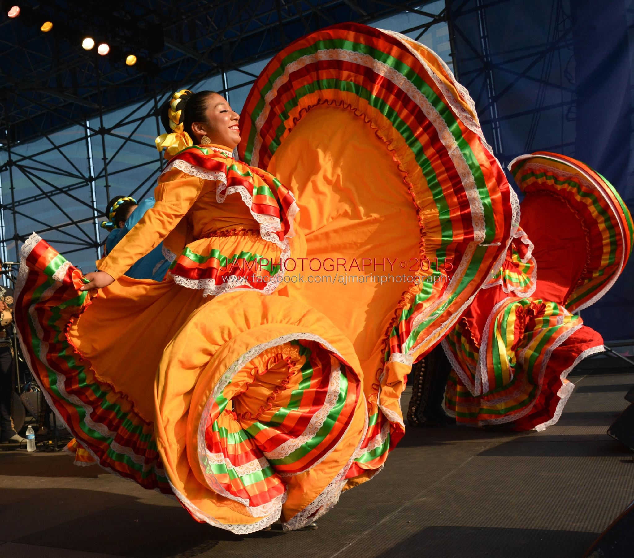 Mexican Dancer by Janet Marin