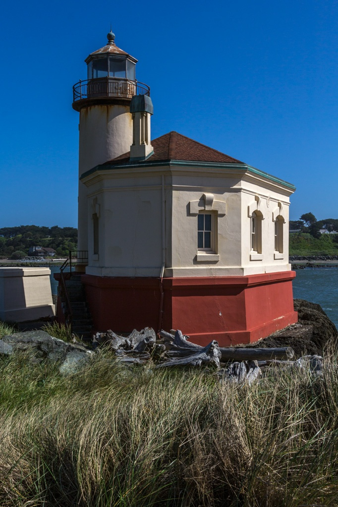Coquille River Lighthouse by Russ Jump