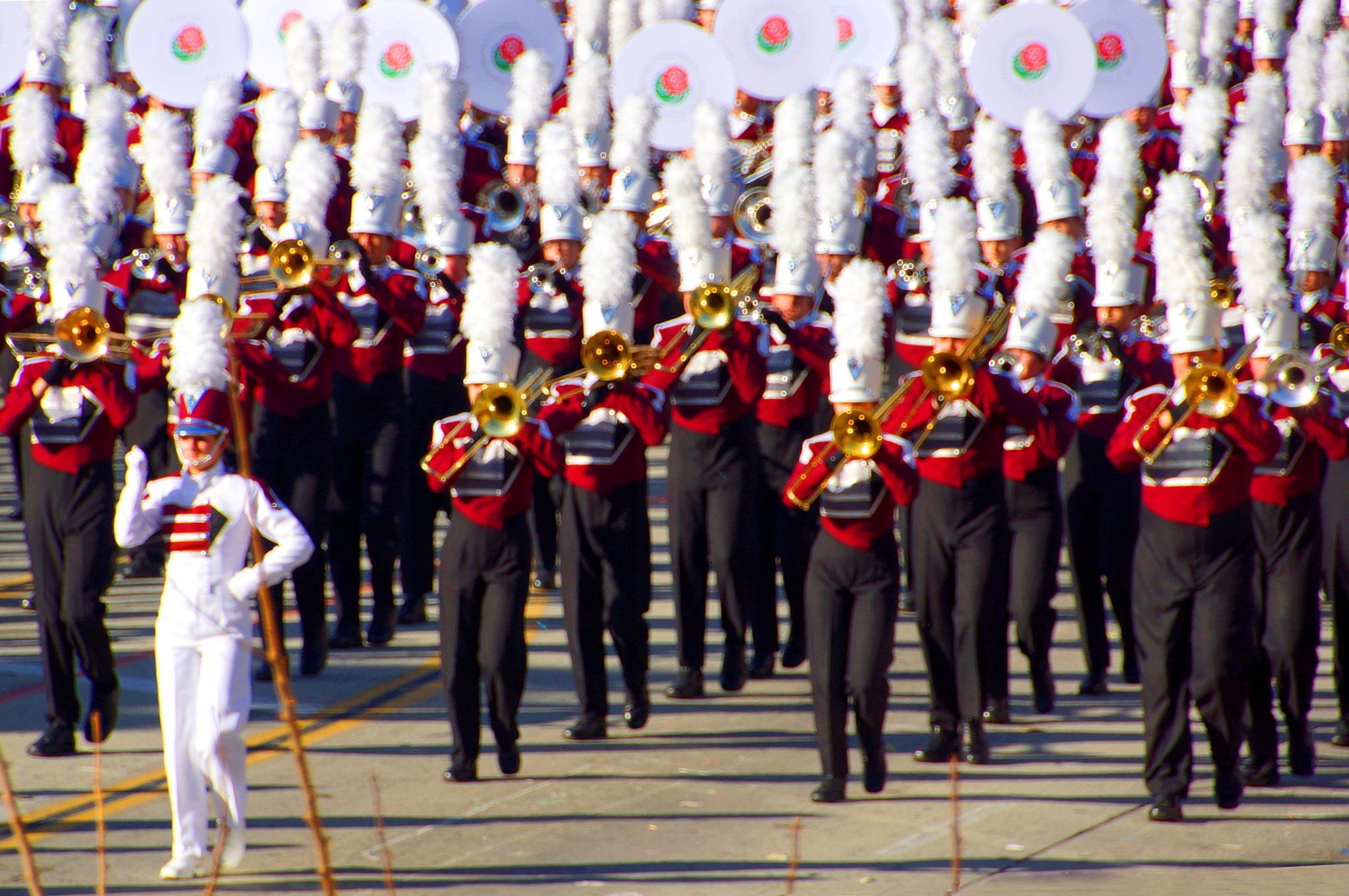 Rose Parade front by bechara.yared
