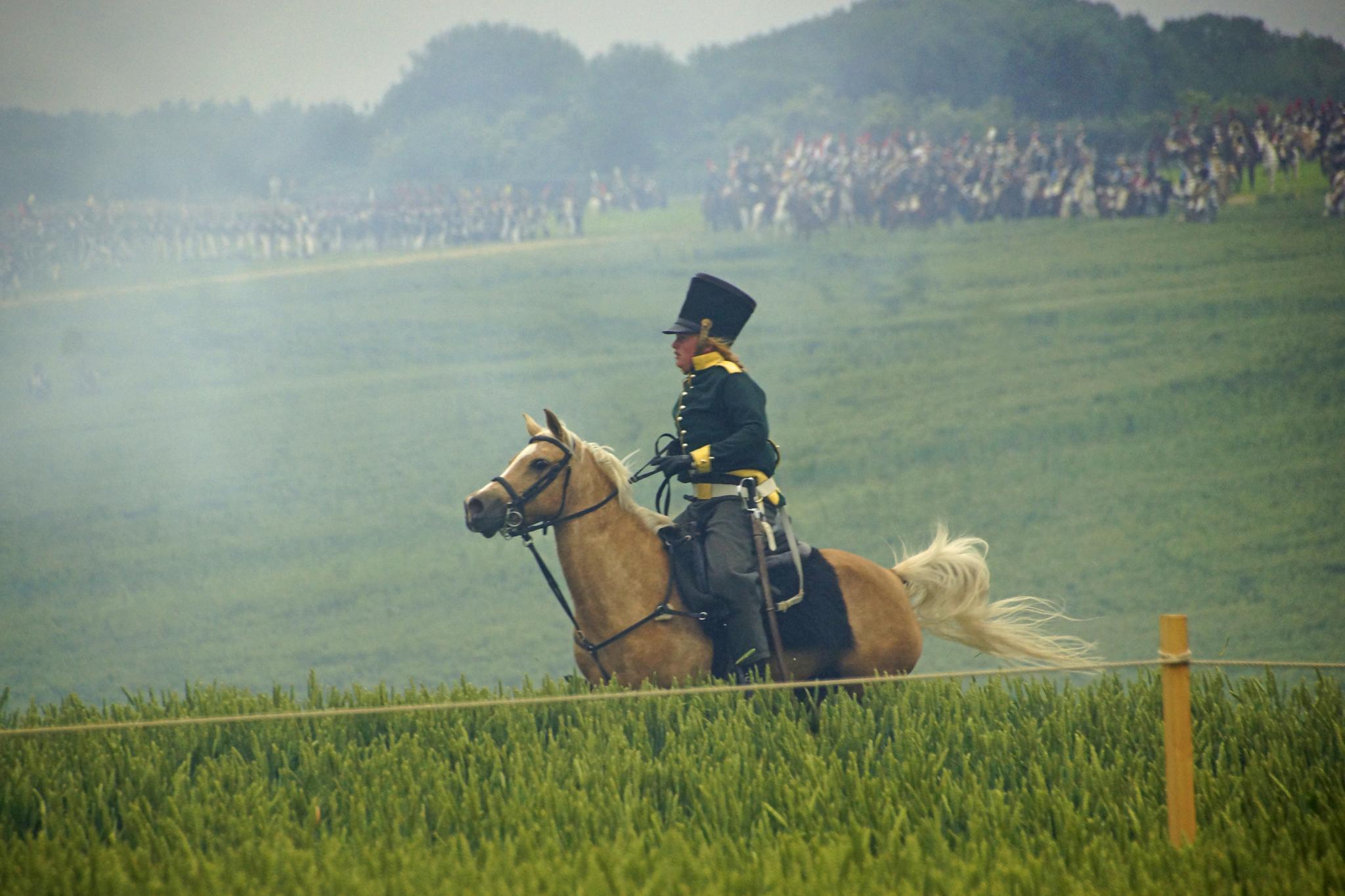 Waterloo Battle reenactment by bechara.yared