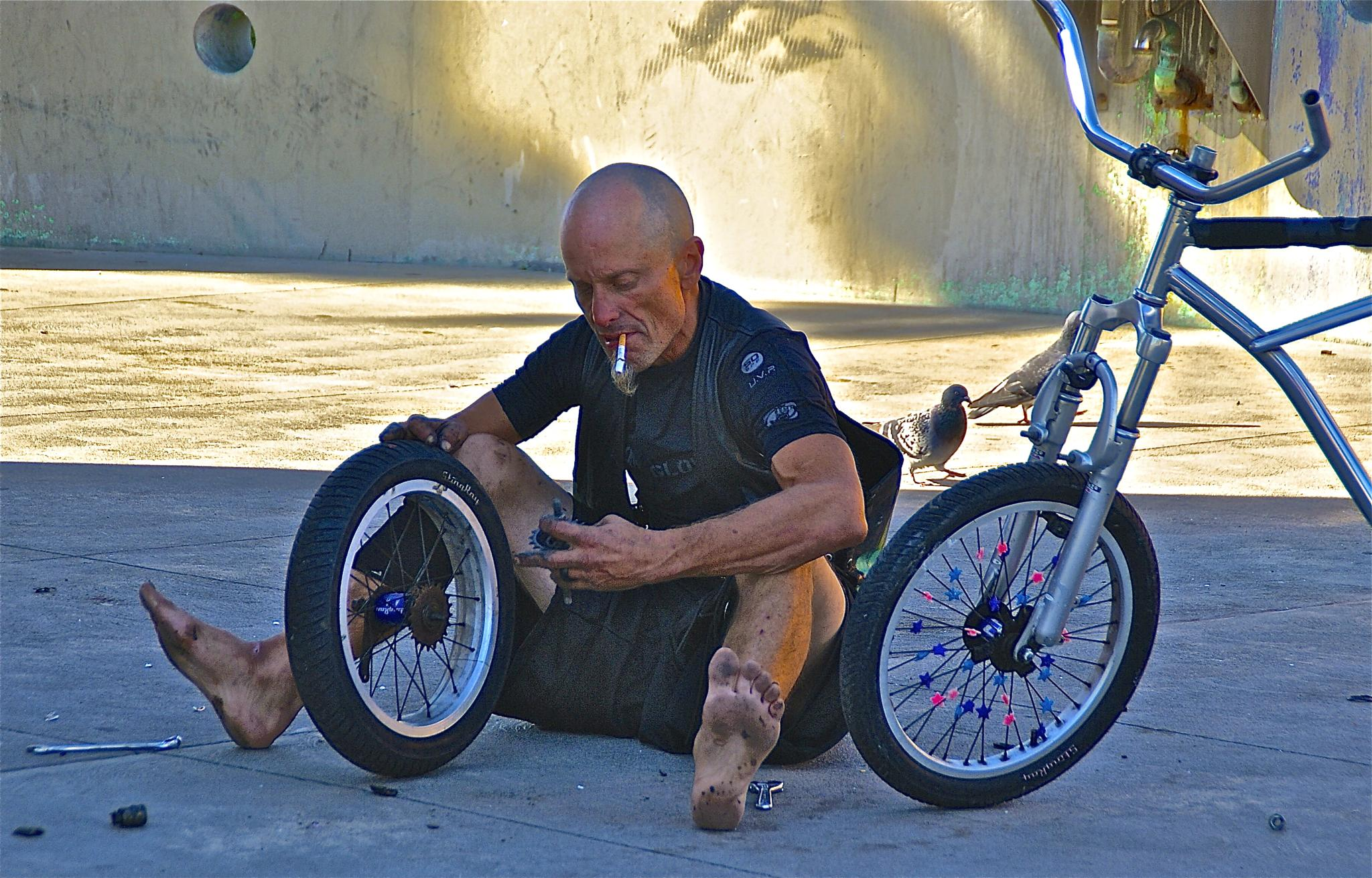 Bicycle Repairman by Gibby911