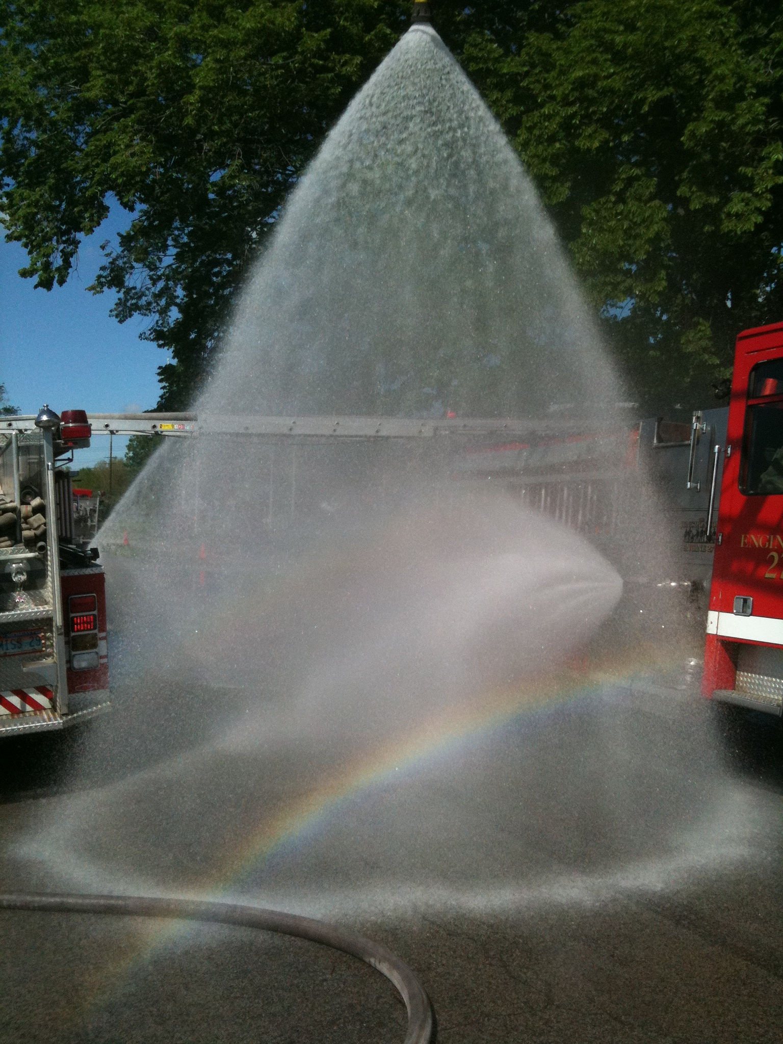 Rainbow Water Spray by Gibby911