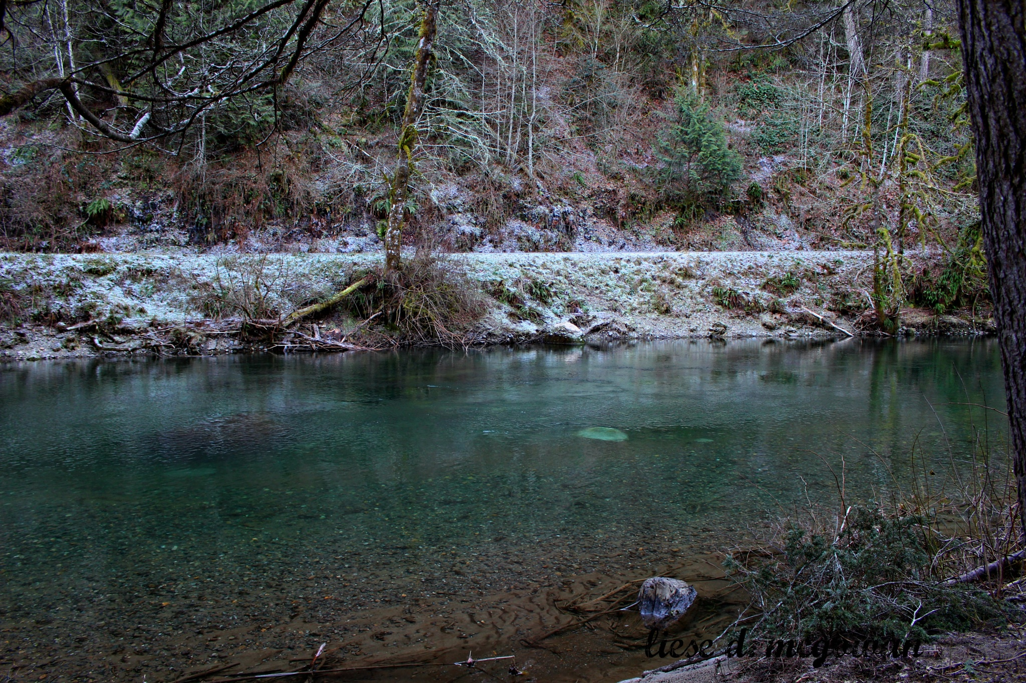 winter river 2 by liesedawn