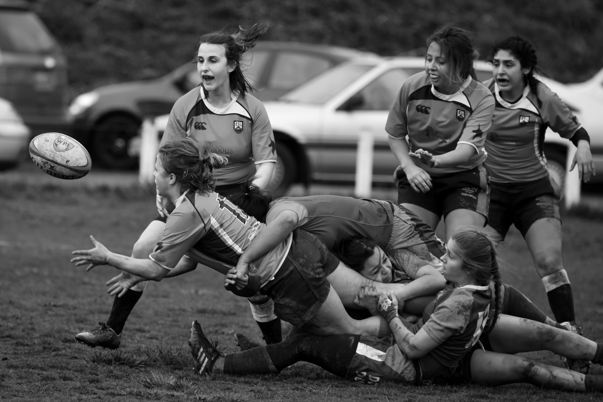 Gang Tackle by Mike Payne