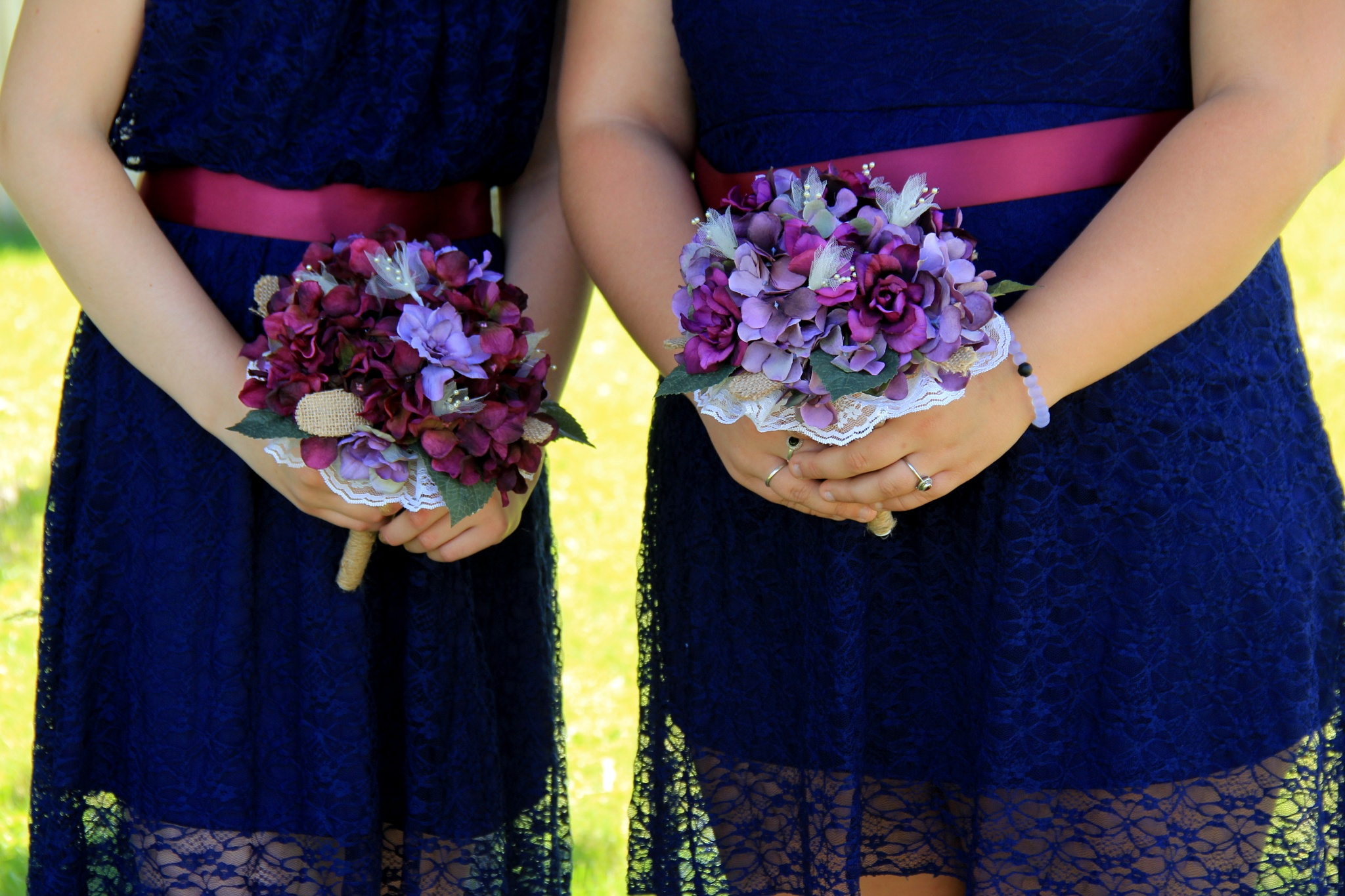 Bridesmaids bouquets by theresaSt.john