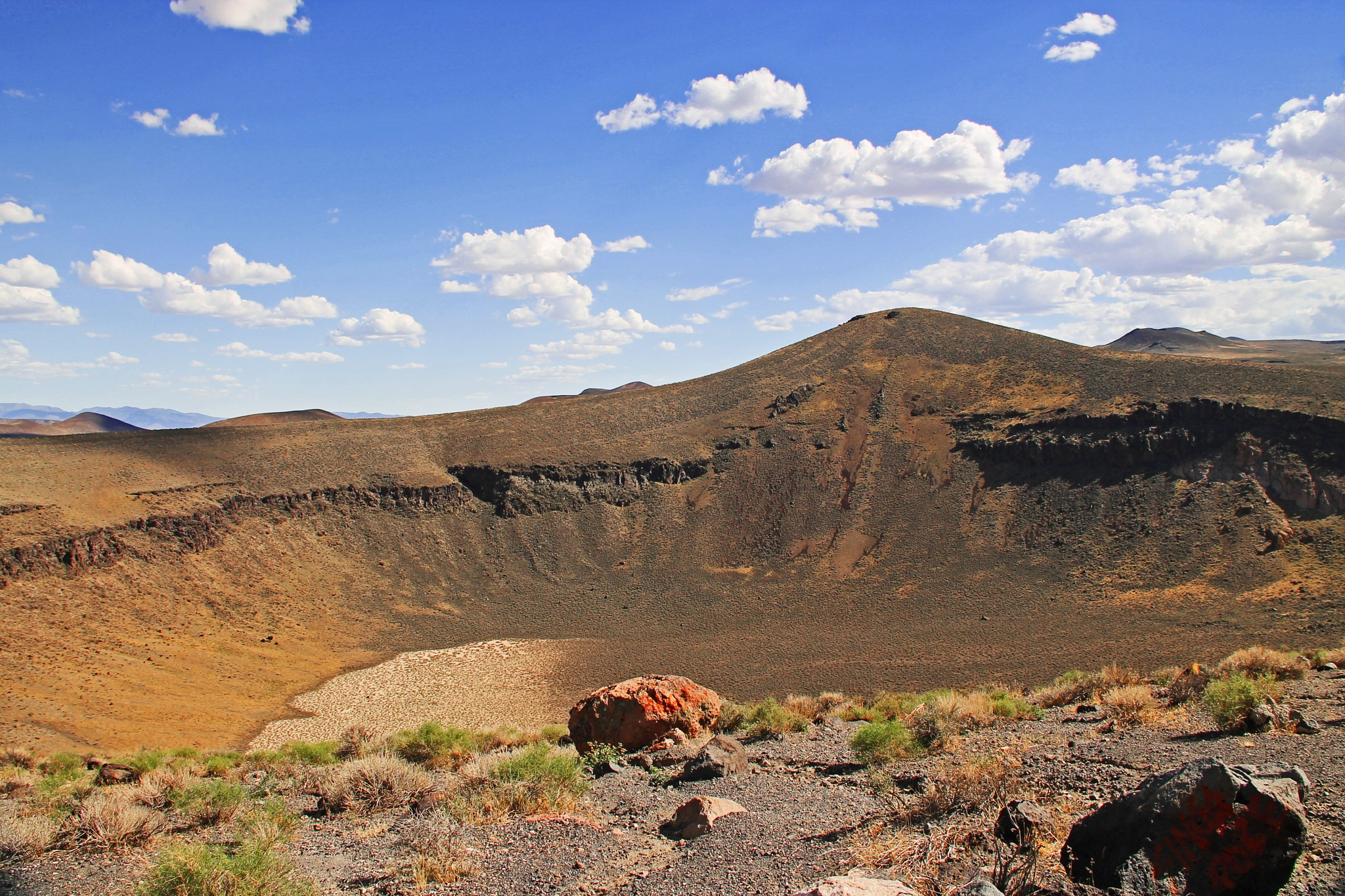 Lunar Crater,  Eastern Nevada by christena.anderson