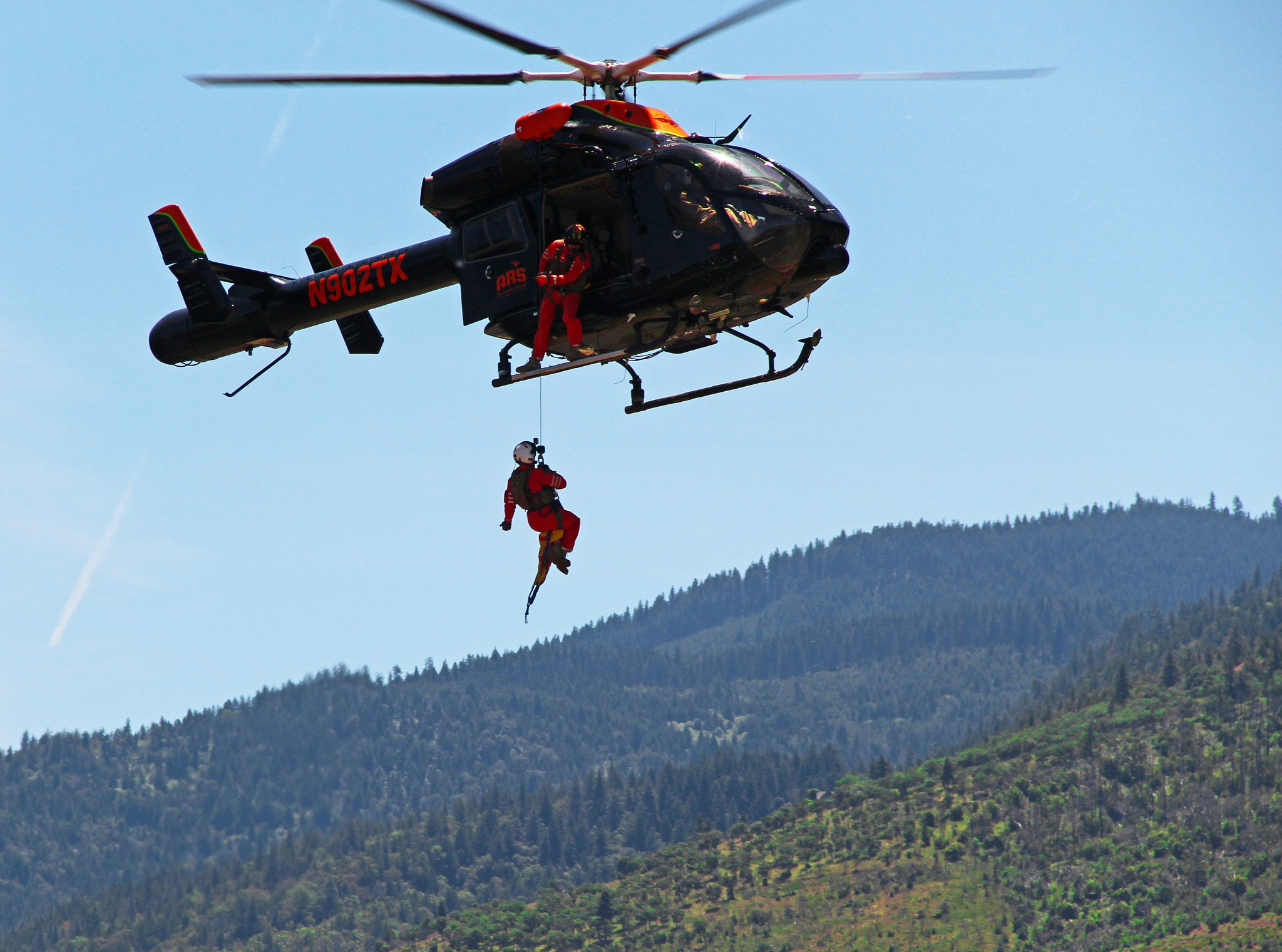 Helicopter Rescue Demonstration  by christena.anderson