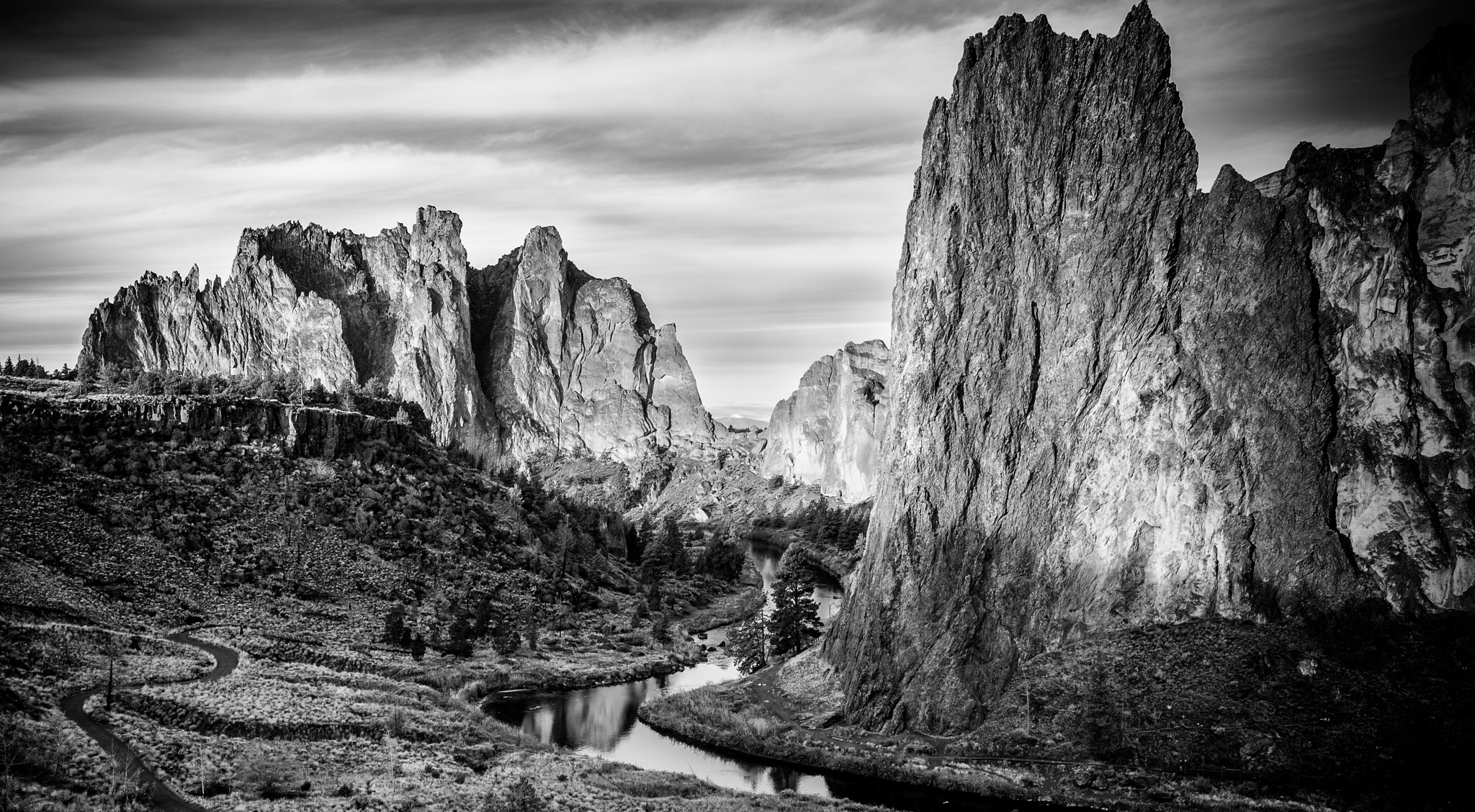 Smith Rock by Charles Thomas