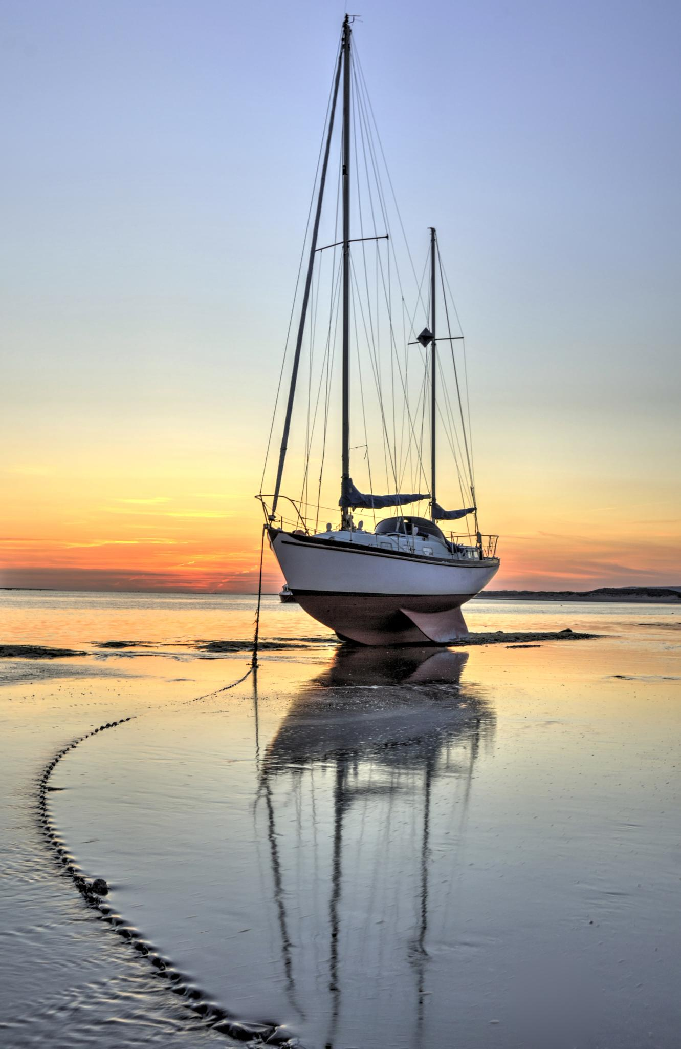 North Devon Sunset from Instow by Andy Davey Photography