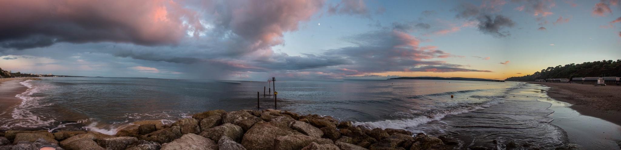 Bournemouth sunset by kim.finlay.14