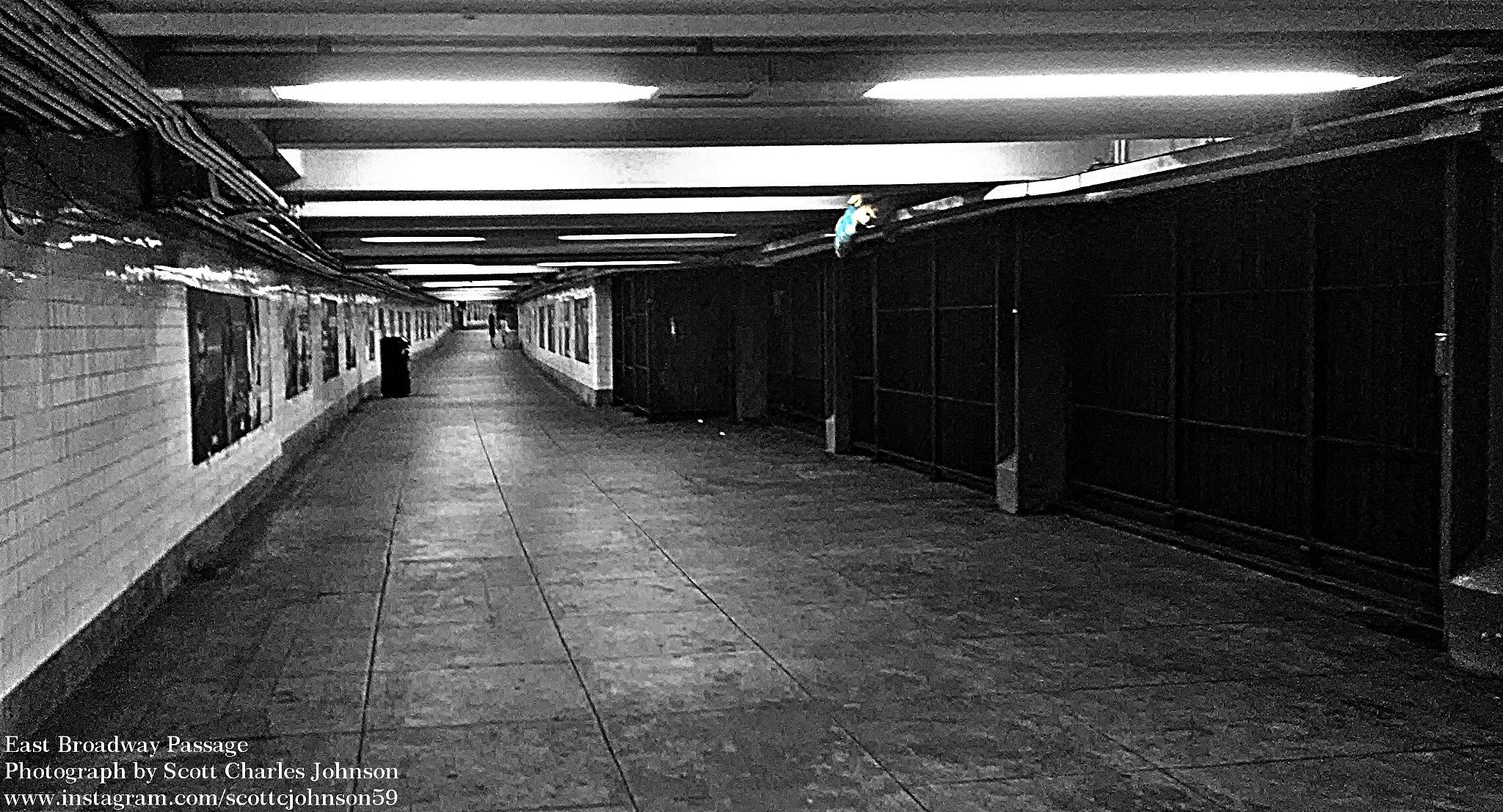 East Broadway Subway passage by Scott Charles Johnson