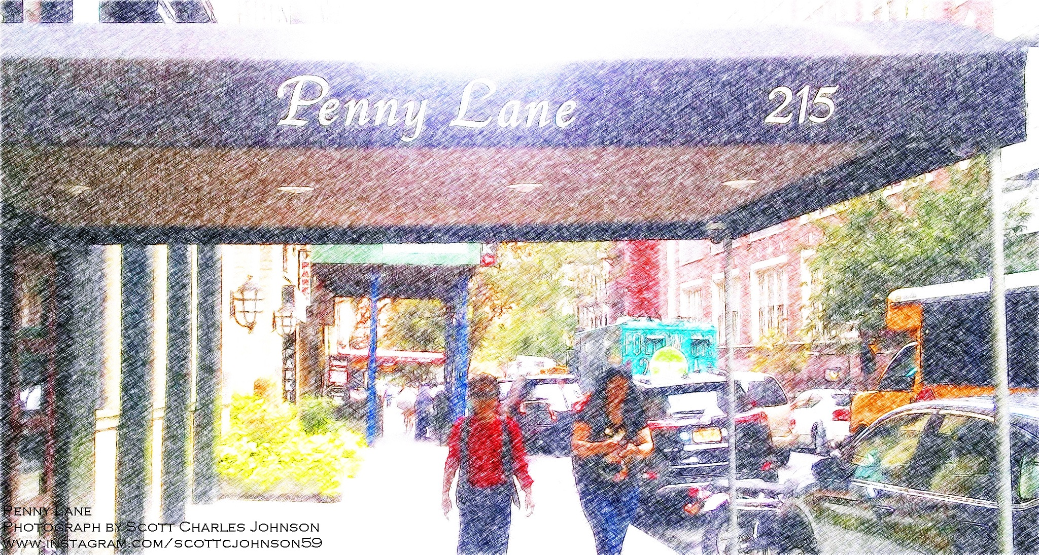 215 E 18th Street NYC aka Penny Lane by Scott Charles Johnson