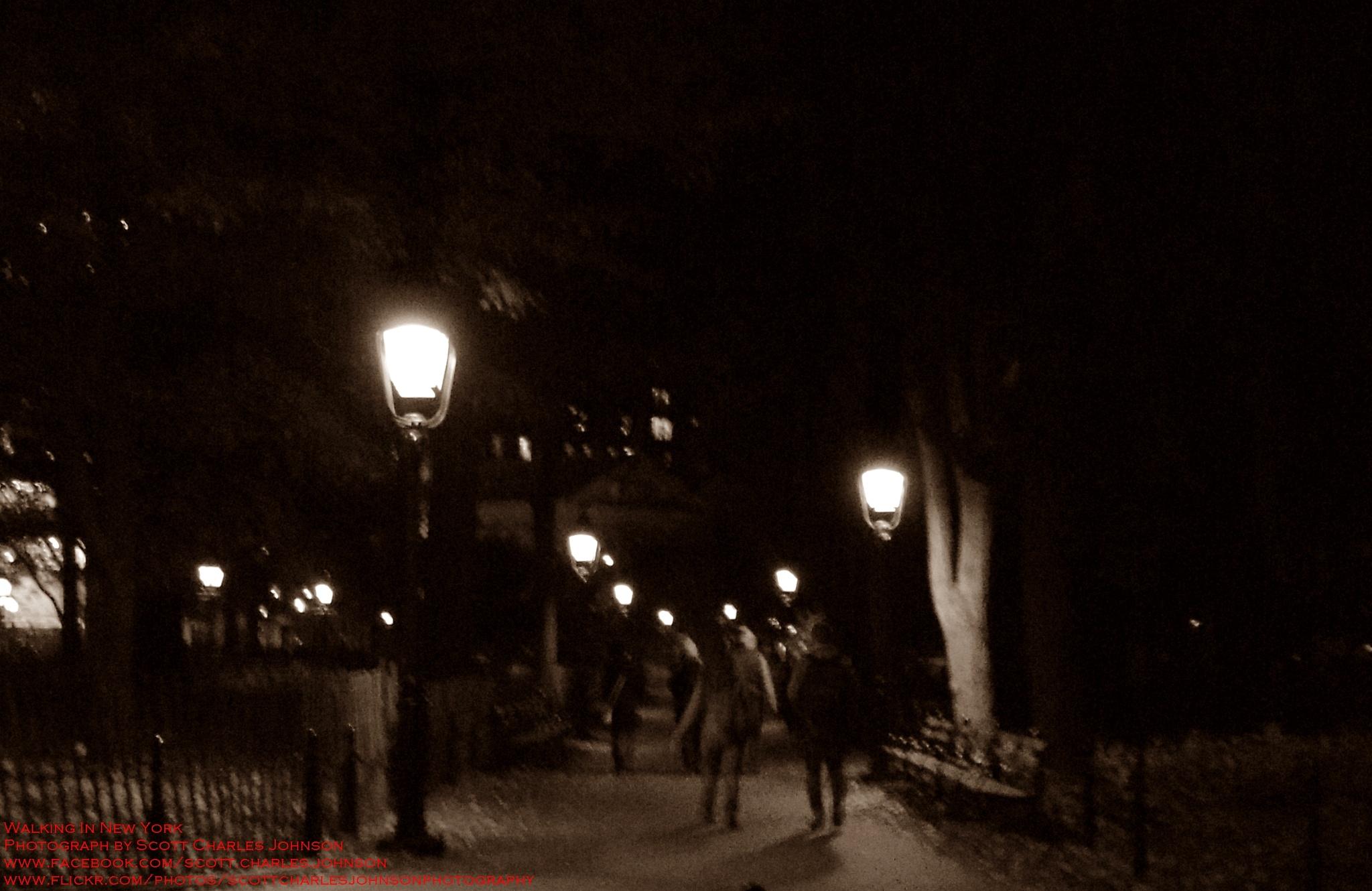 Walking In New York by Scott Charles Johnson