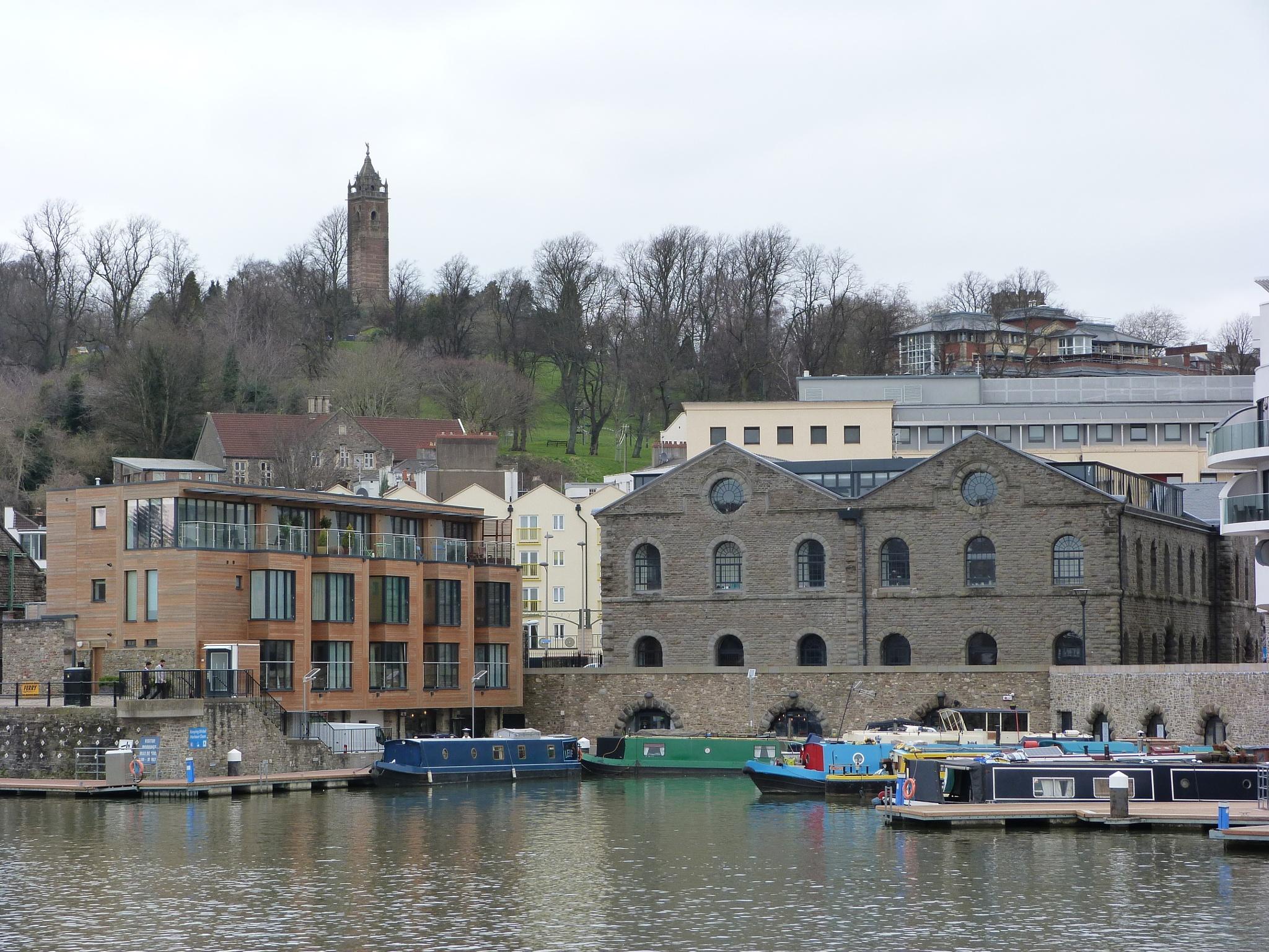 Bristol Docks by stevecocking