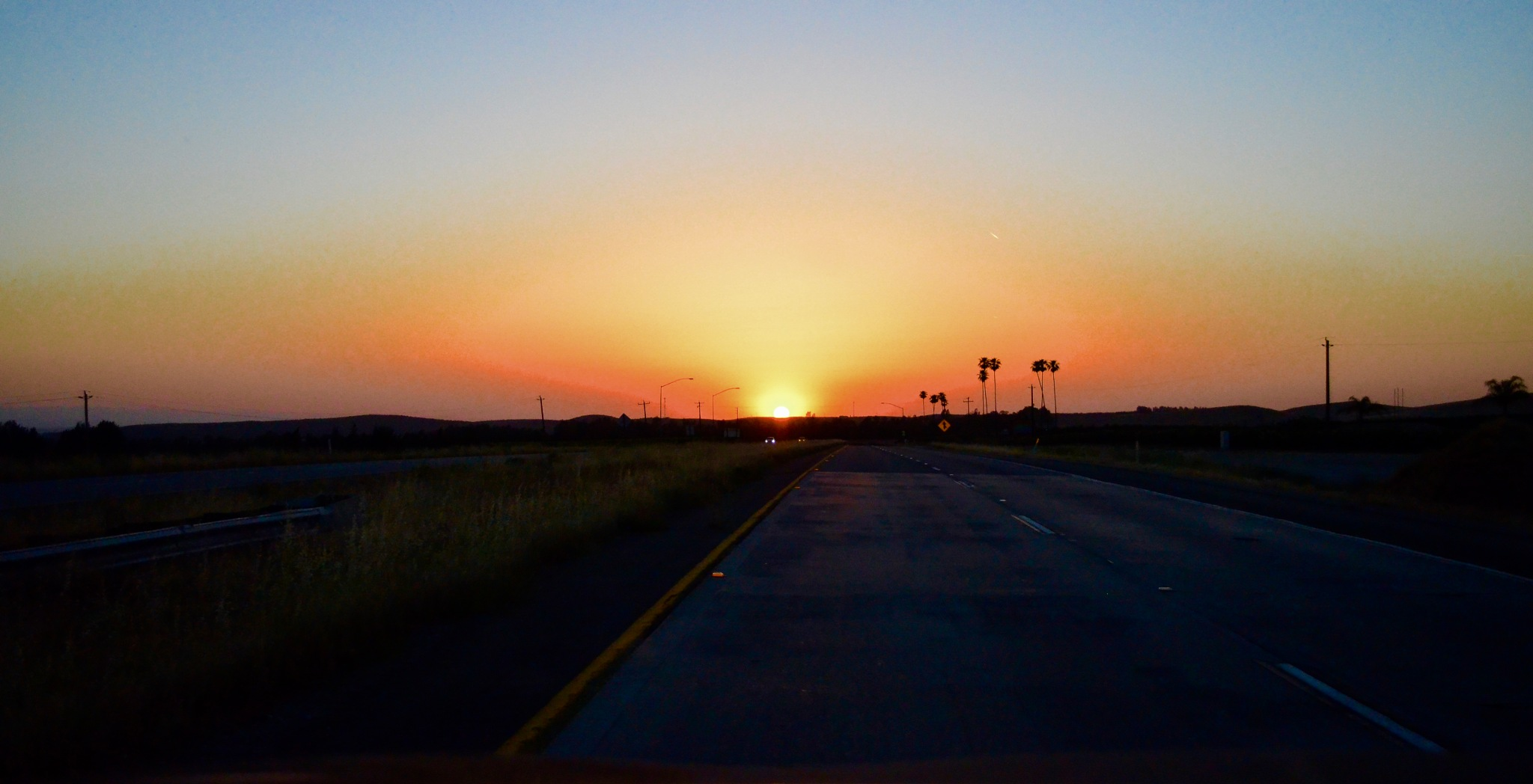 CA sunset - Bakersfield style -  by victor.vera.14