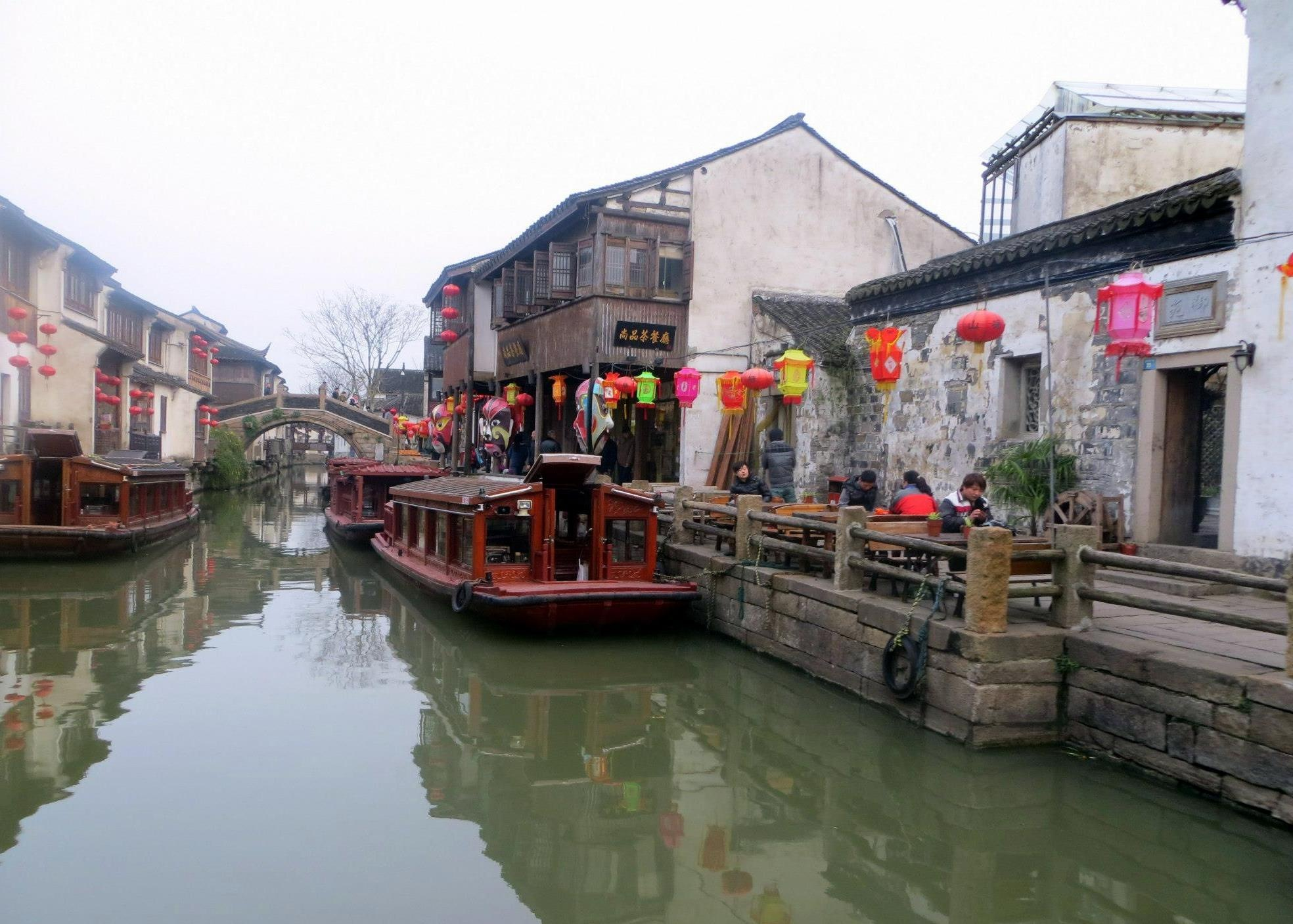 Canals of Suzhou by J.R. Gonzales
