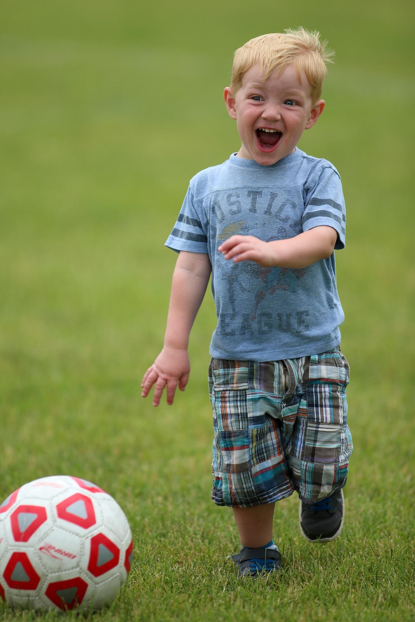 soccer boy by dboquist