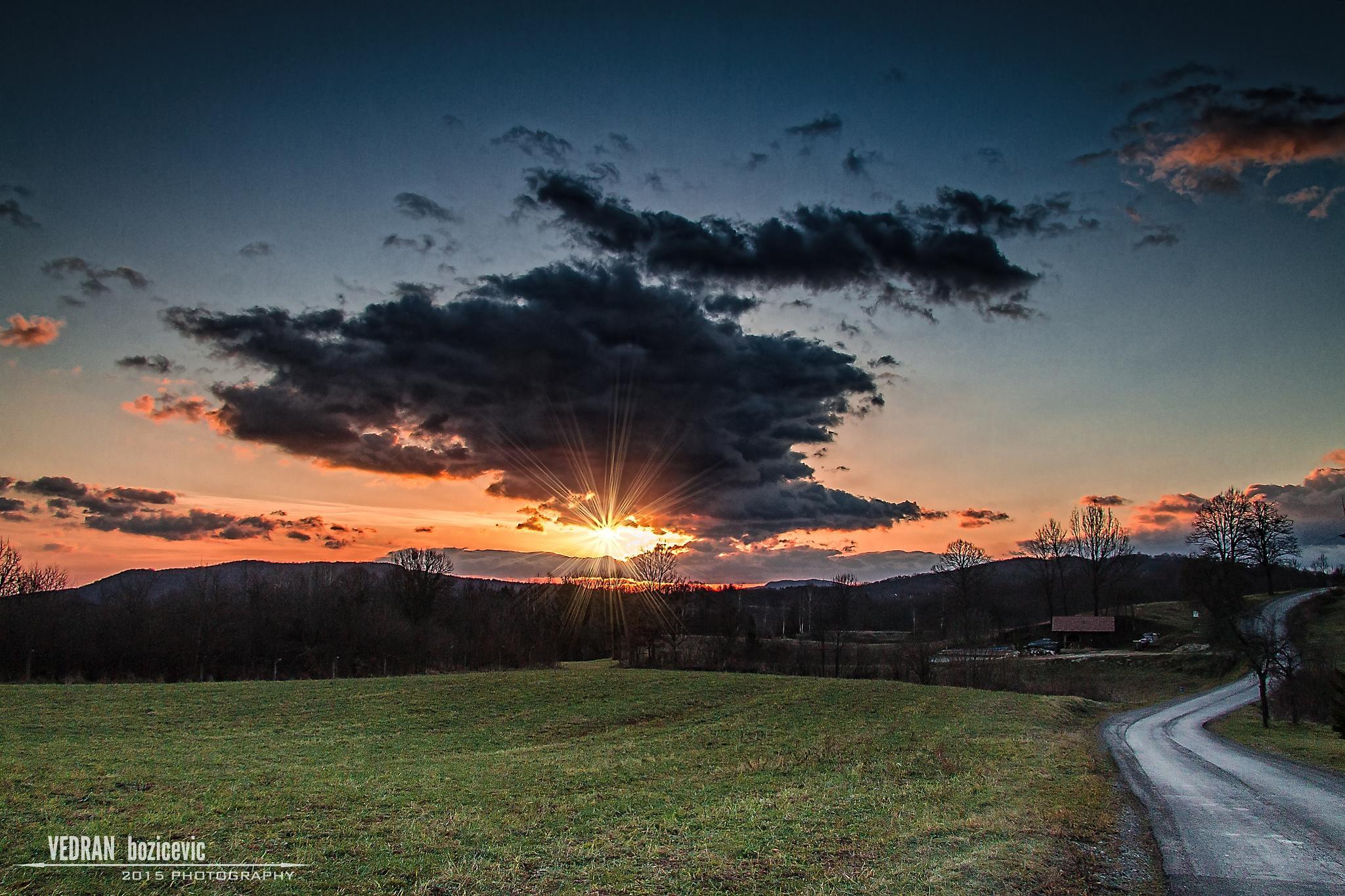 Sunrise in SLunj by Vedran