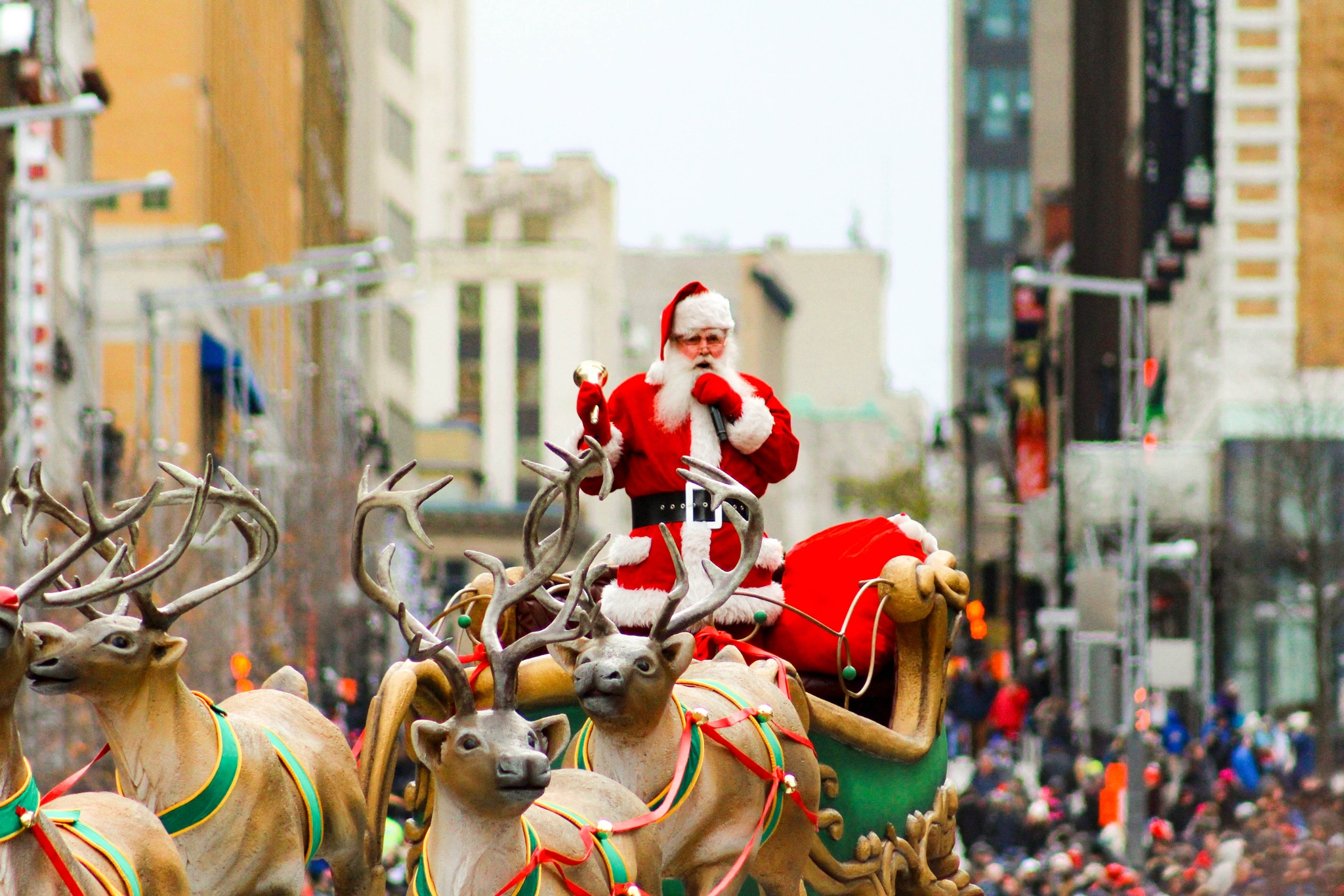 Santa Claus is in town! Montreal! by Lucian-Mihai Purici