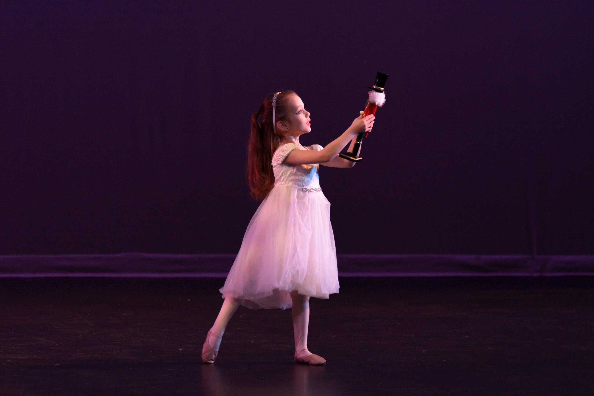 Clara and the Nutcracker by Jeff Tostenrude