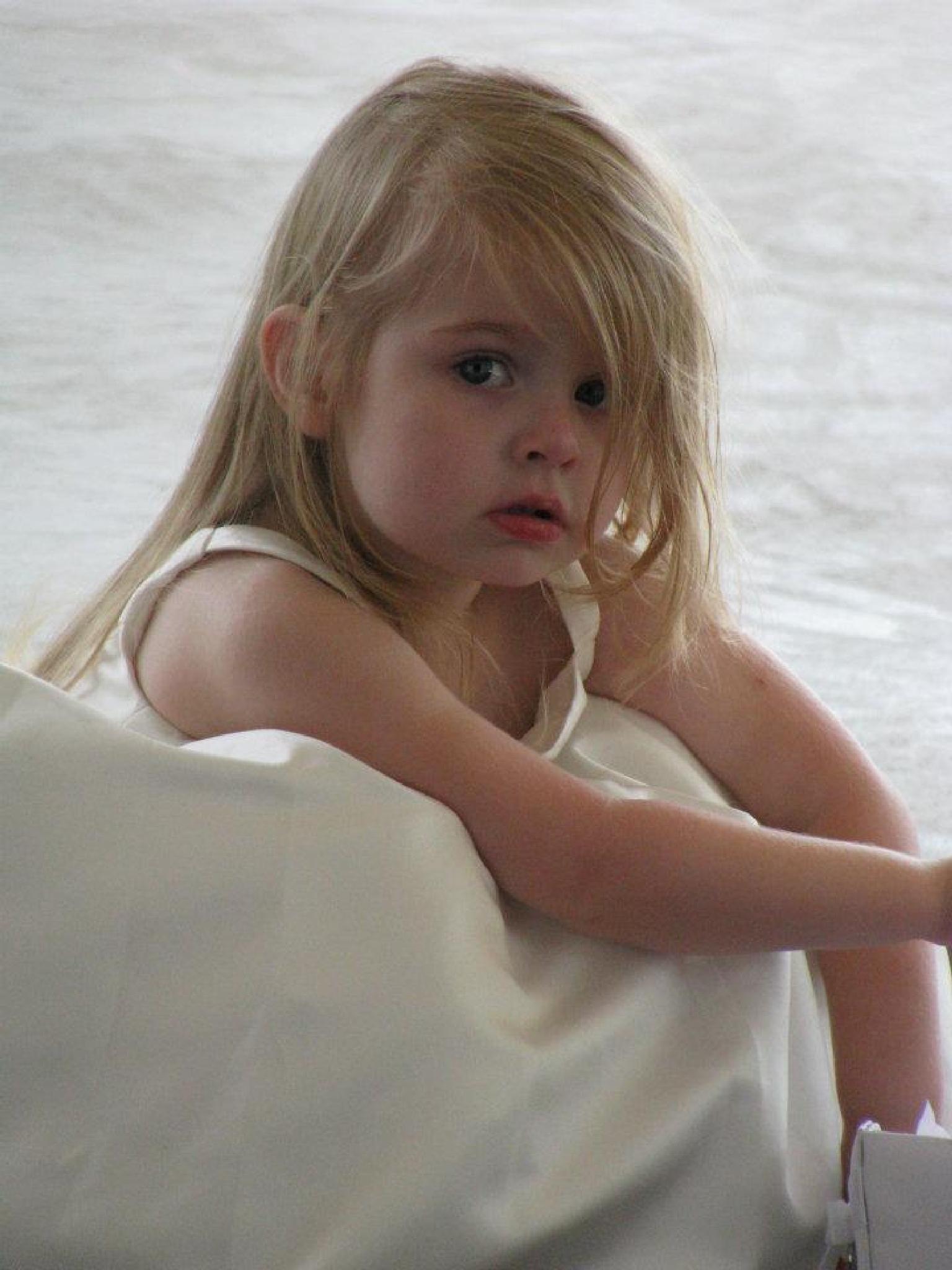 Girl in White by robin.smith.3150