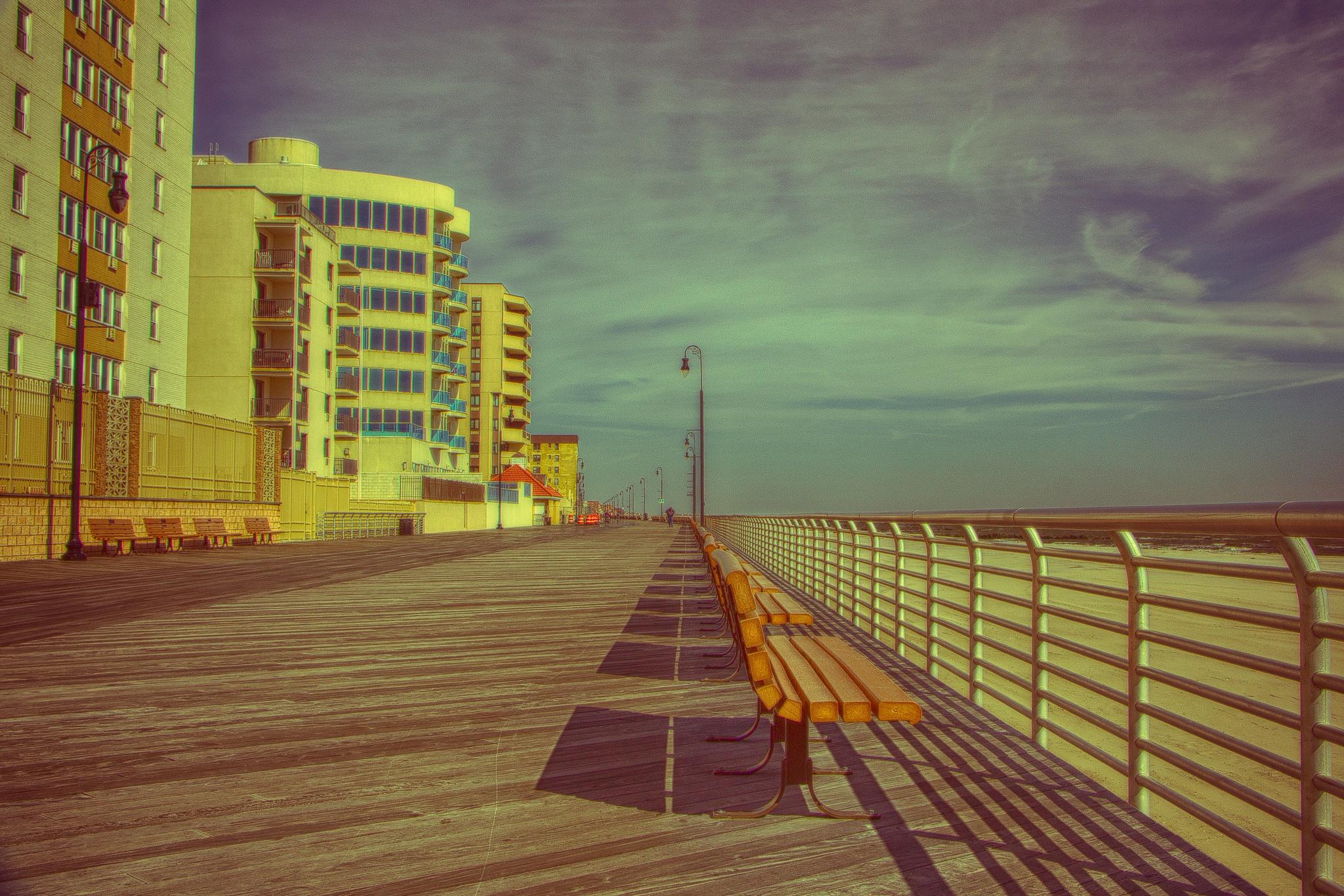 boardwalk, Long Beach NY by joseph.gioglio