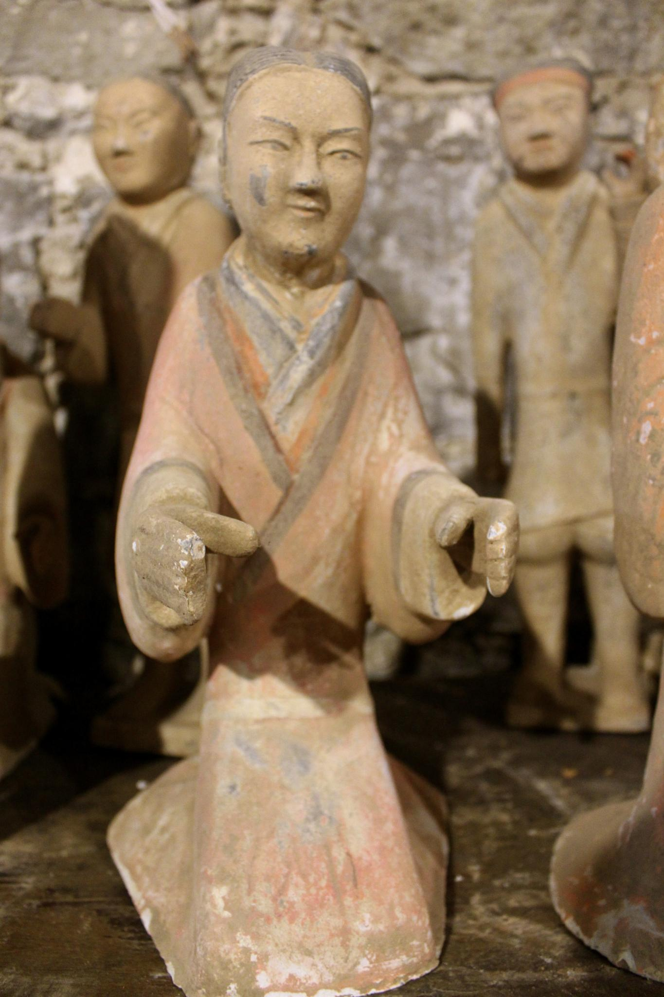 Ancient Figurines by konrath_ds