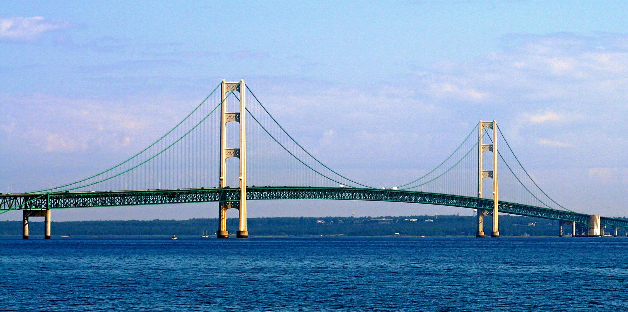 Mackinaw Bridge, MI by konrath_ds