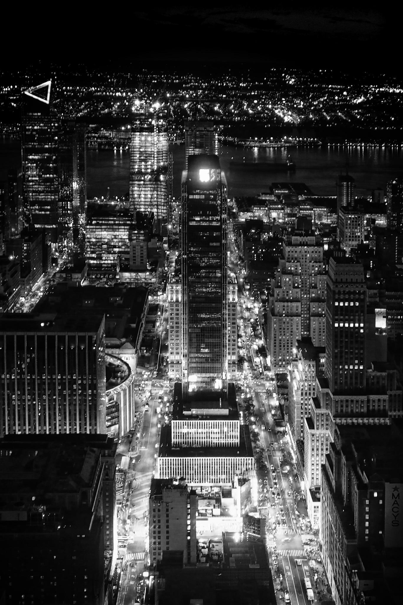 NYC IN THE DARK by David DeBord
