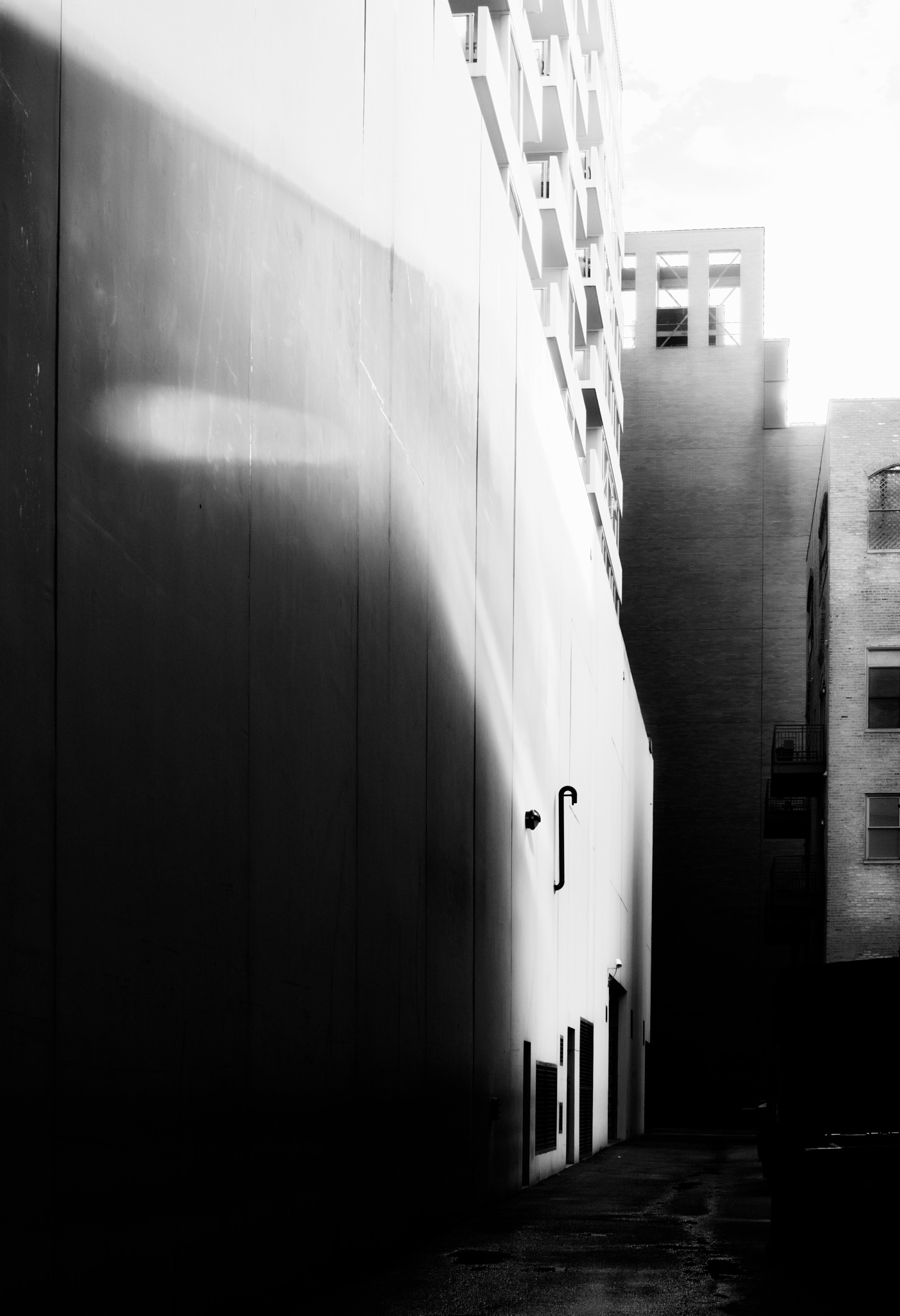 ANOTHER WET ALLEY by David DeBord
