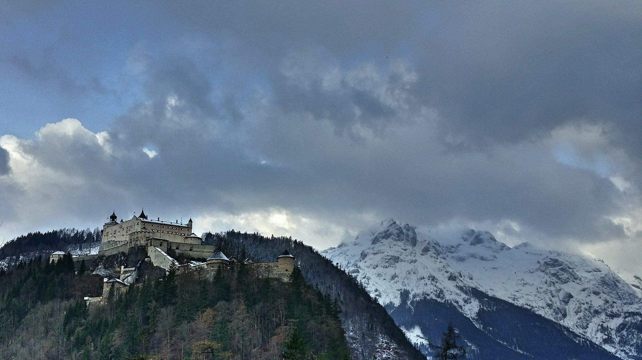 Hohenwerfen Fortress by Hans Leth