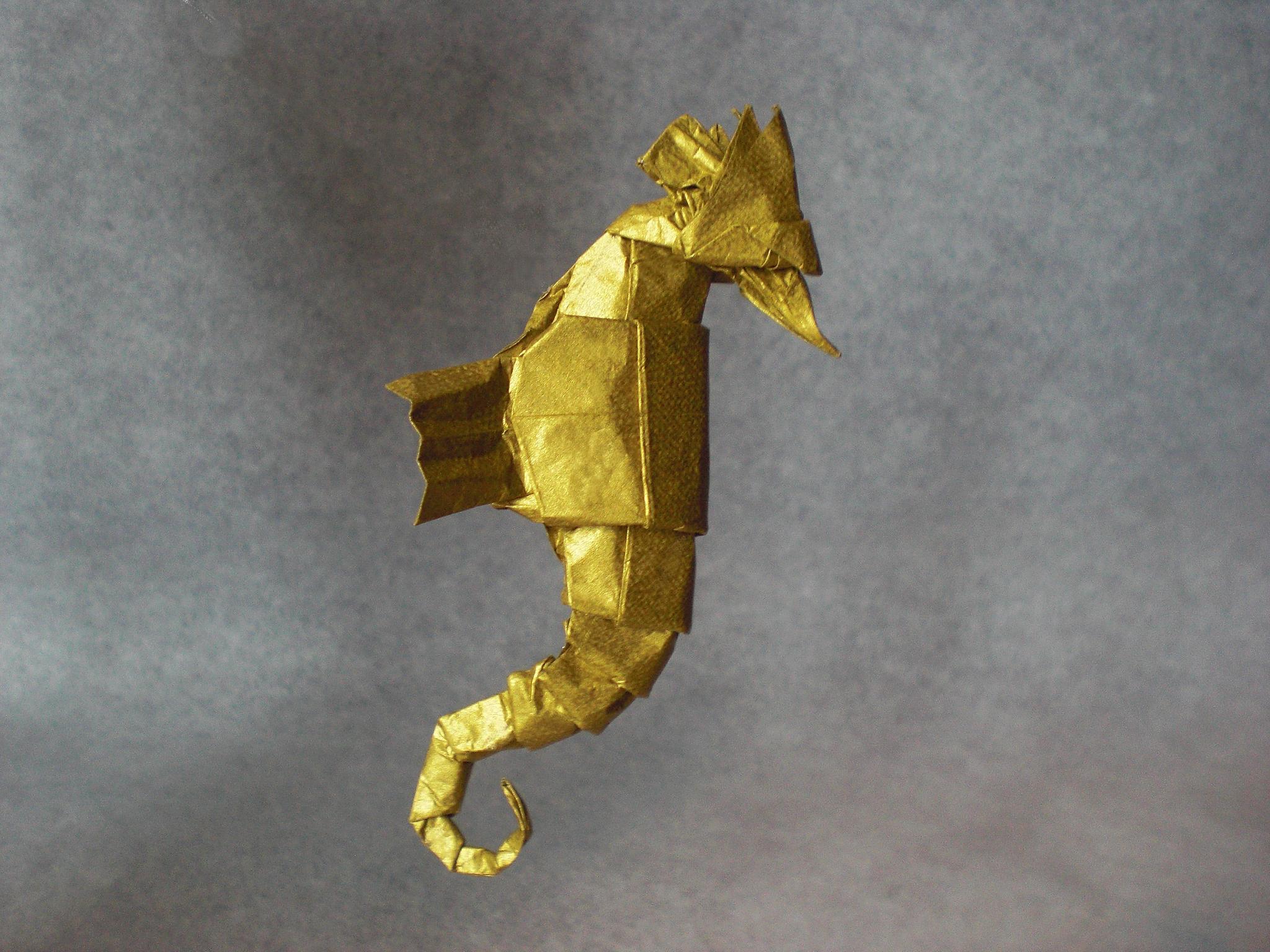 Seahorse by Andrés Lozano