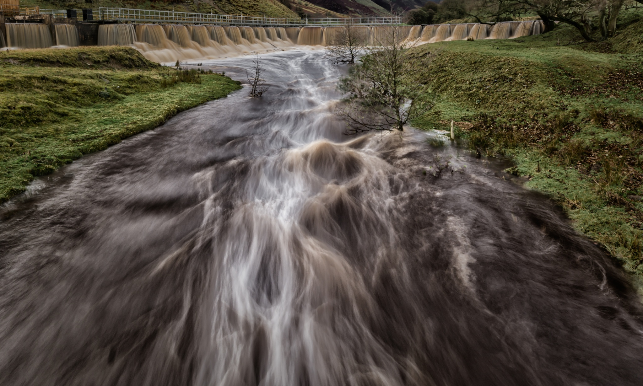 River Ashop by Michael Collier