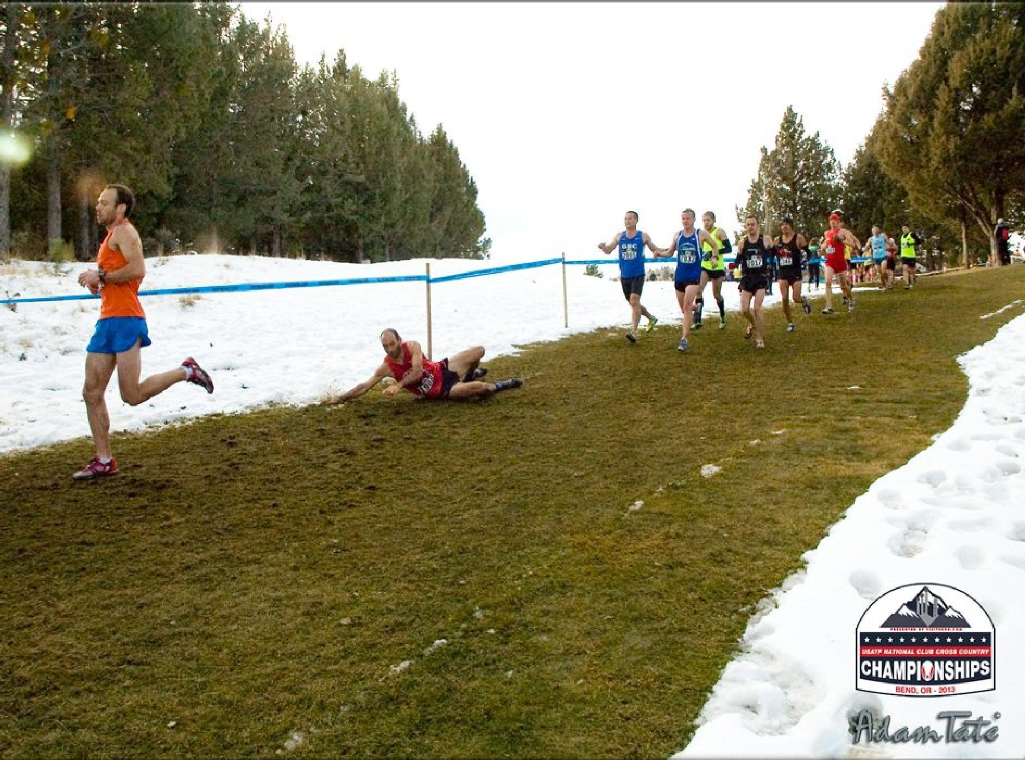 Runner Stumbles by Adamizer
