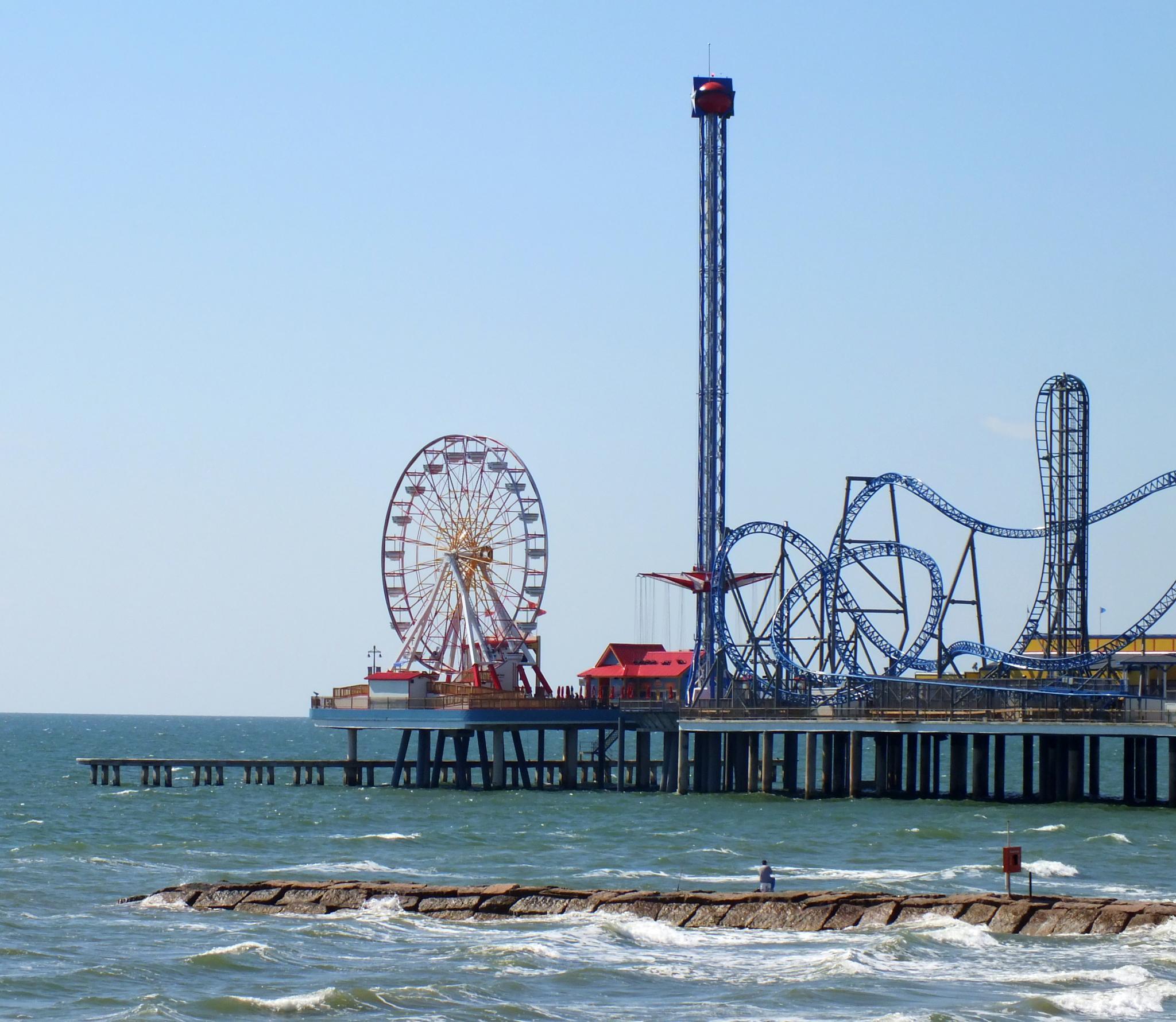 Galveston day trip by Greg L. Elder