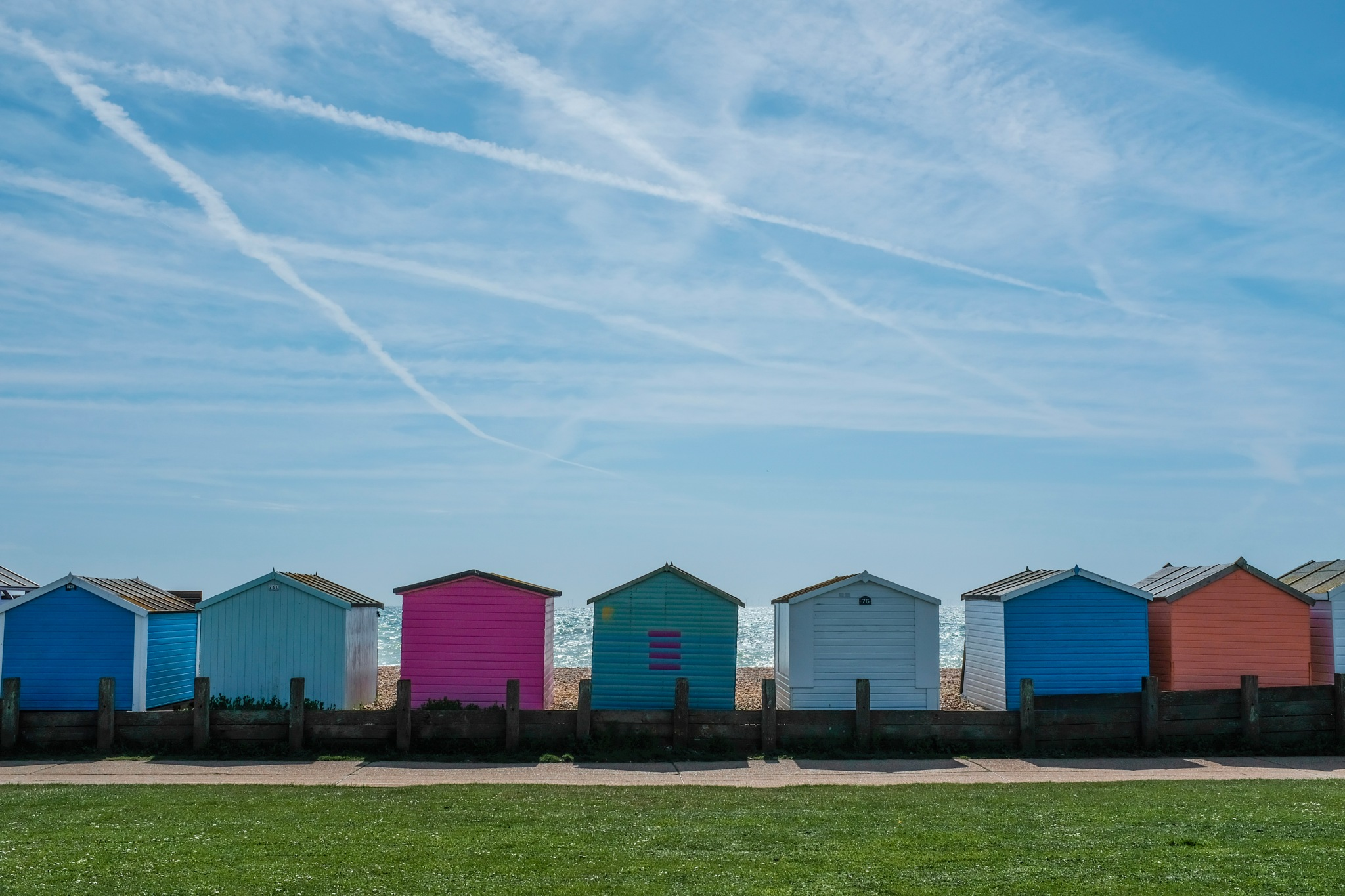 Worthing, Sussex by Adam Higgitt