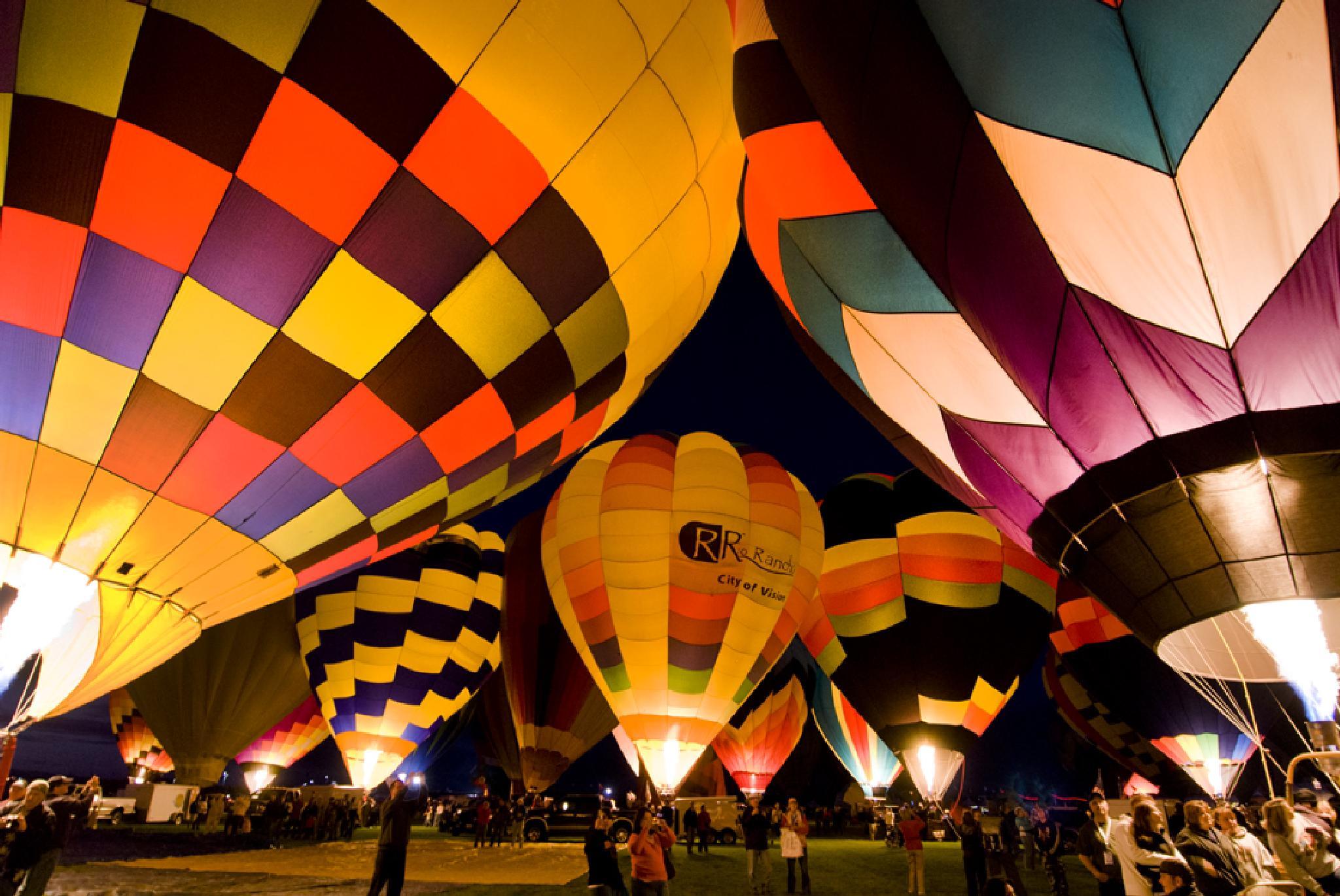 Albuquerque Balloon Fest by Pazzophoto