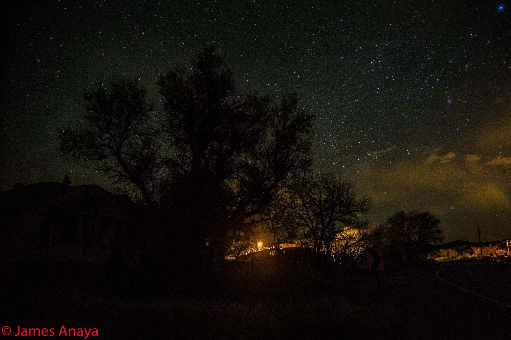 night in my world by the Hellion Rocks