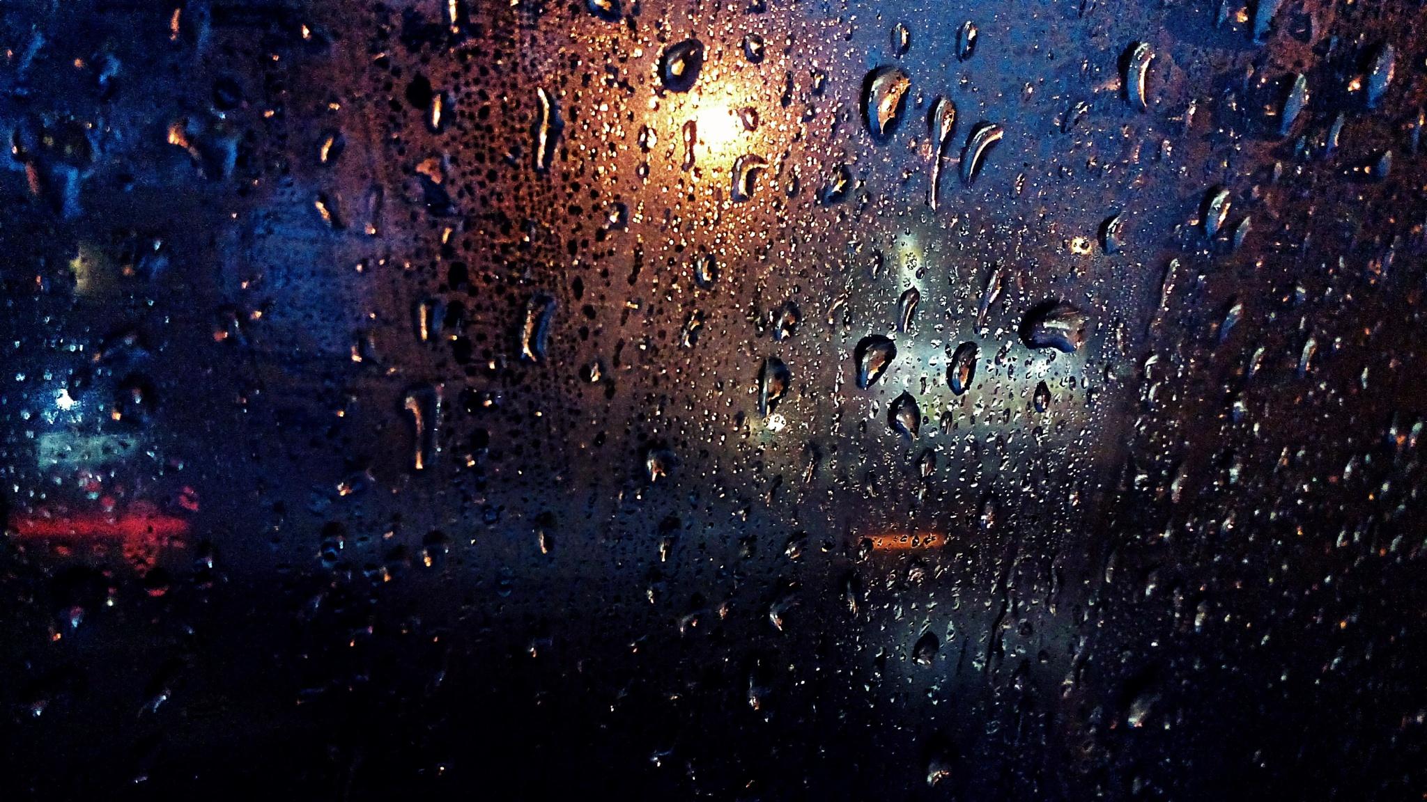 gotas de lluvia  by Bessie Hernandez