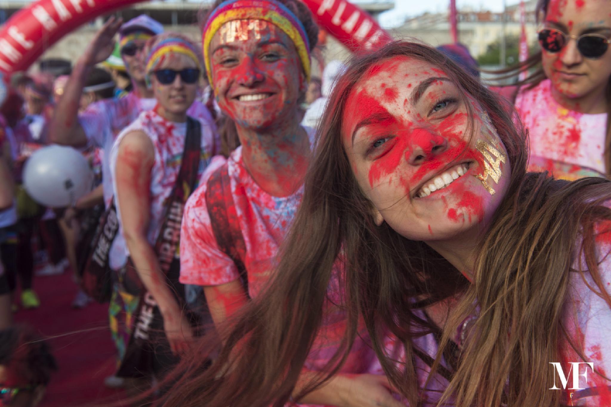 Trieste Color Run 2015 D by moreno faina