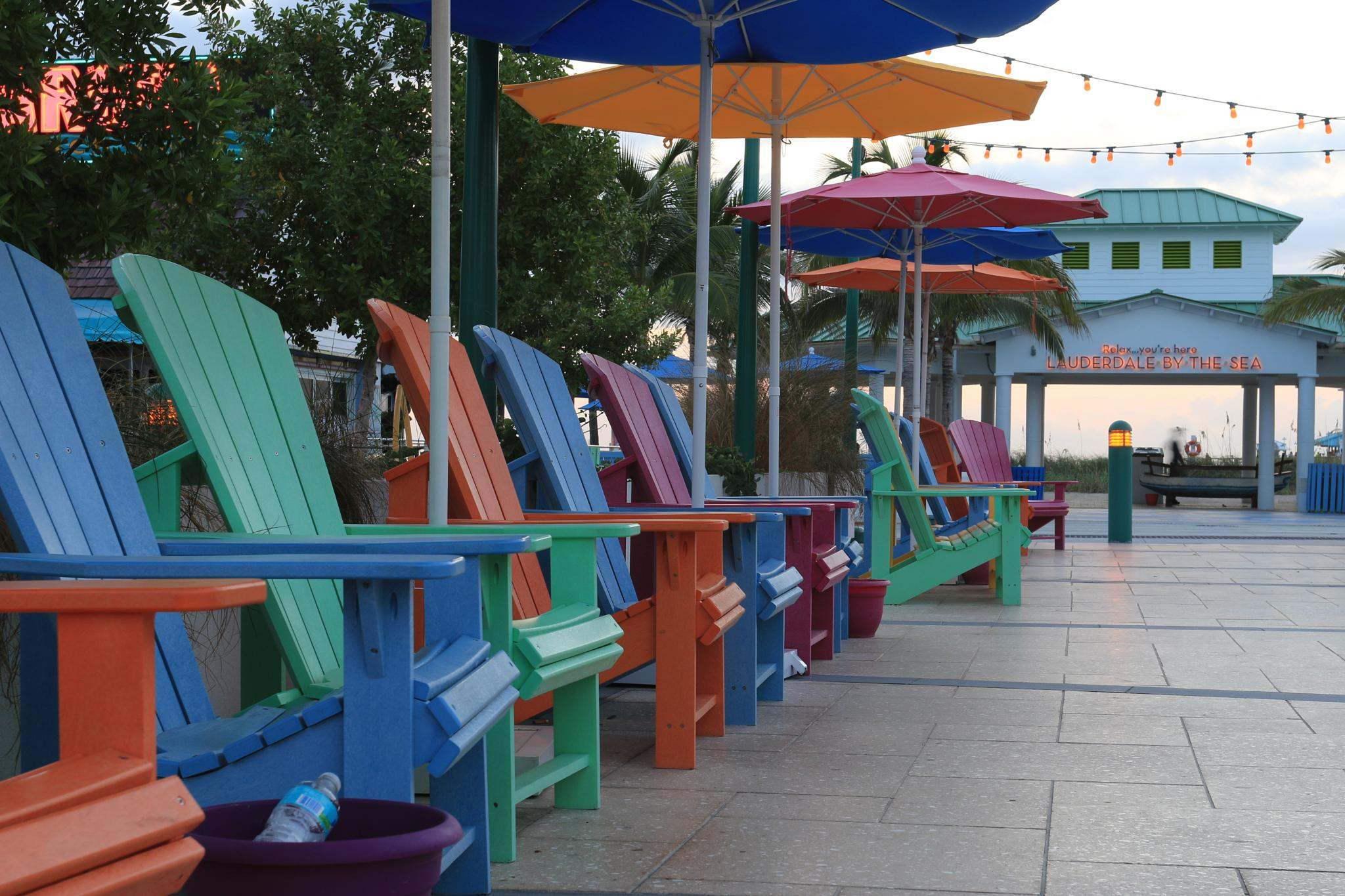Colorful Chairs by gregu2
