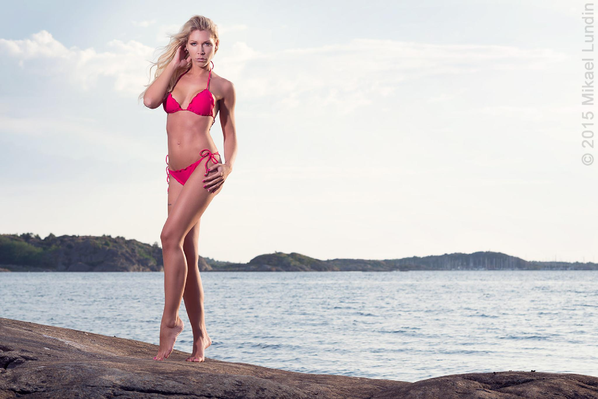 Swedish summer bikini by Mikael Lundin