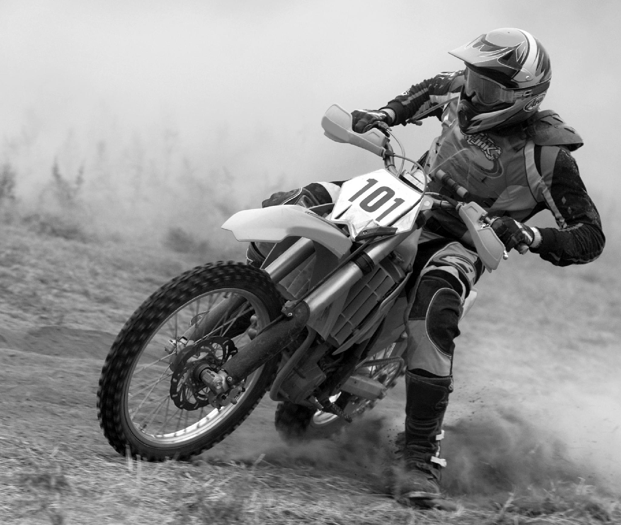 Motocross Racer by Tony Coelho Ramos