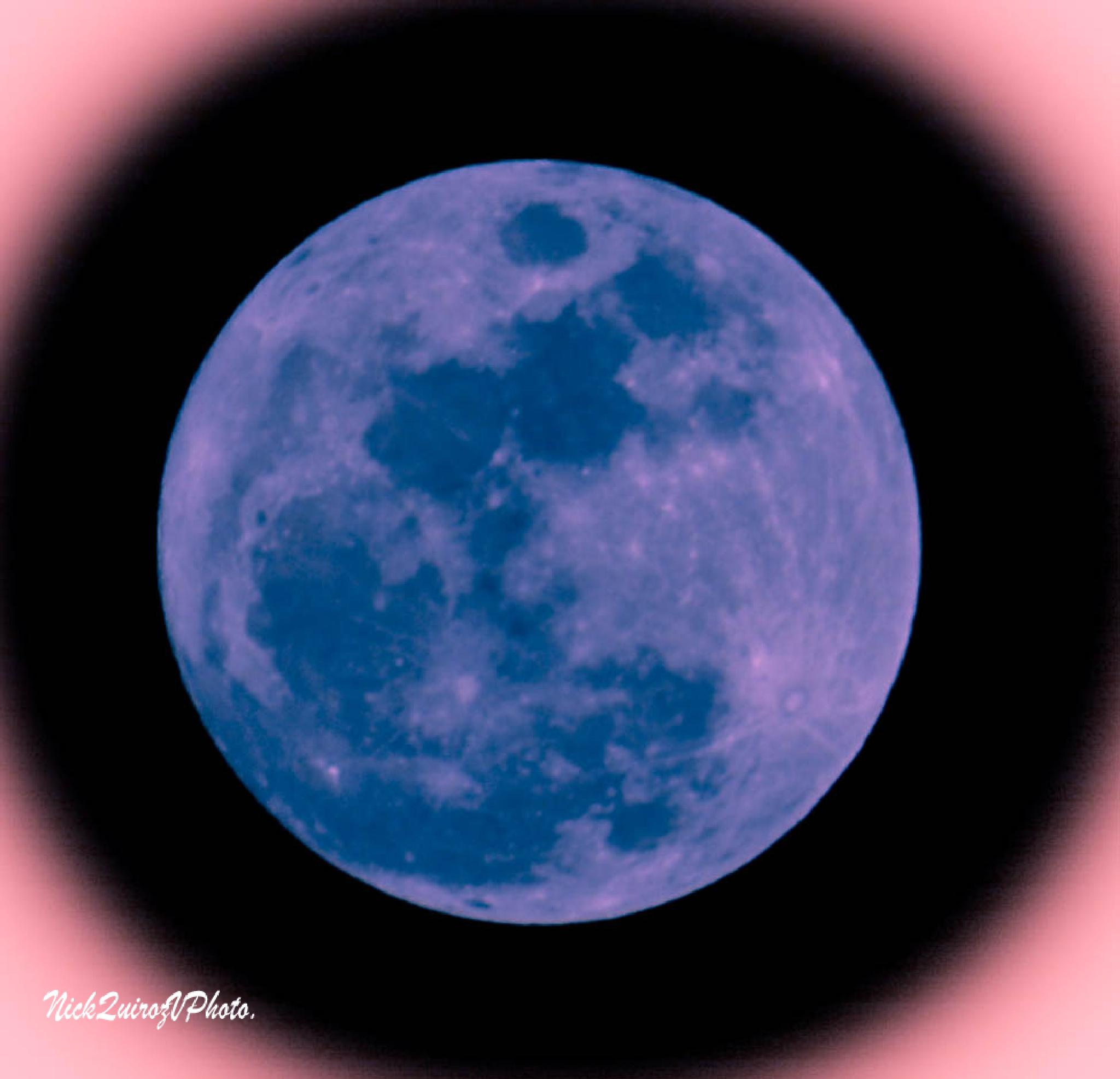 full moon,Miami.January 4th 2015 by nickquirozvillavicencio