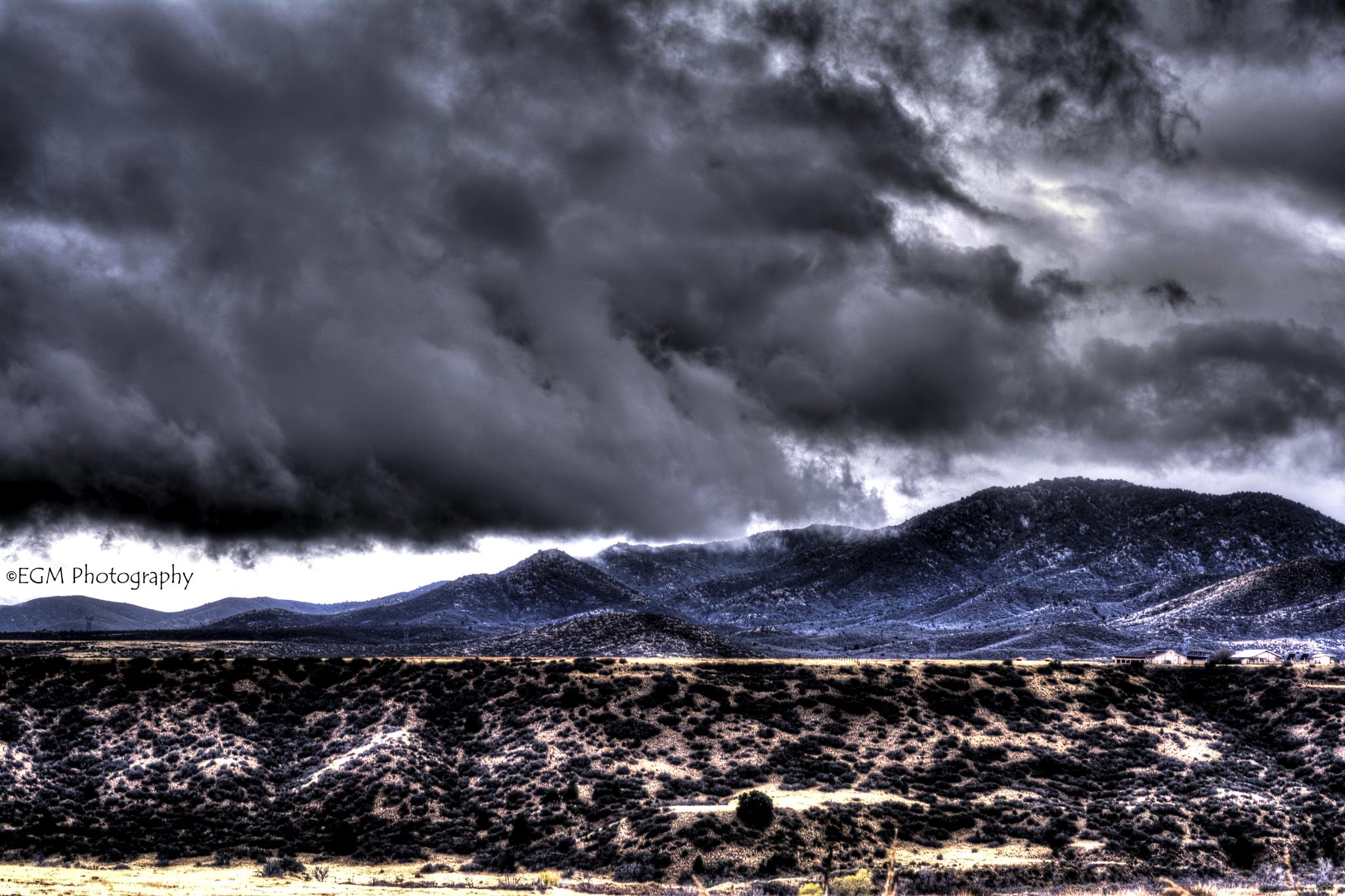 Clouds Over Prescott Valley by ernest.moreno.56