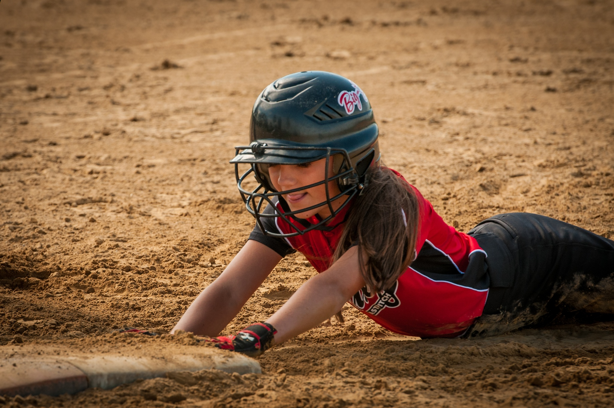 Safe at First by mgrphotography