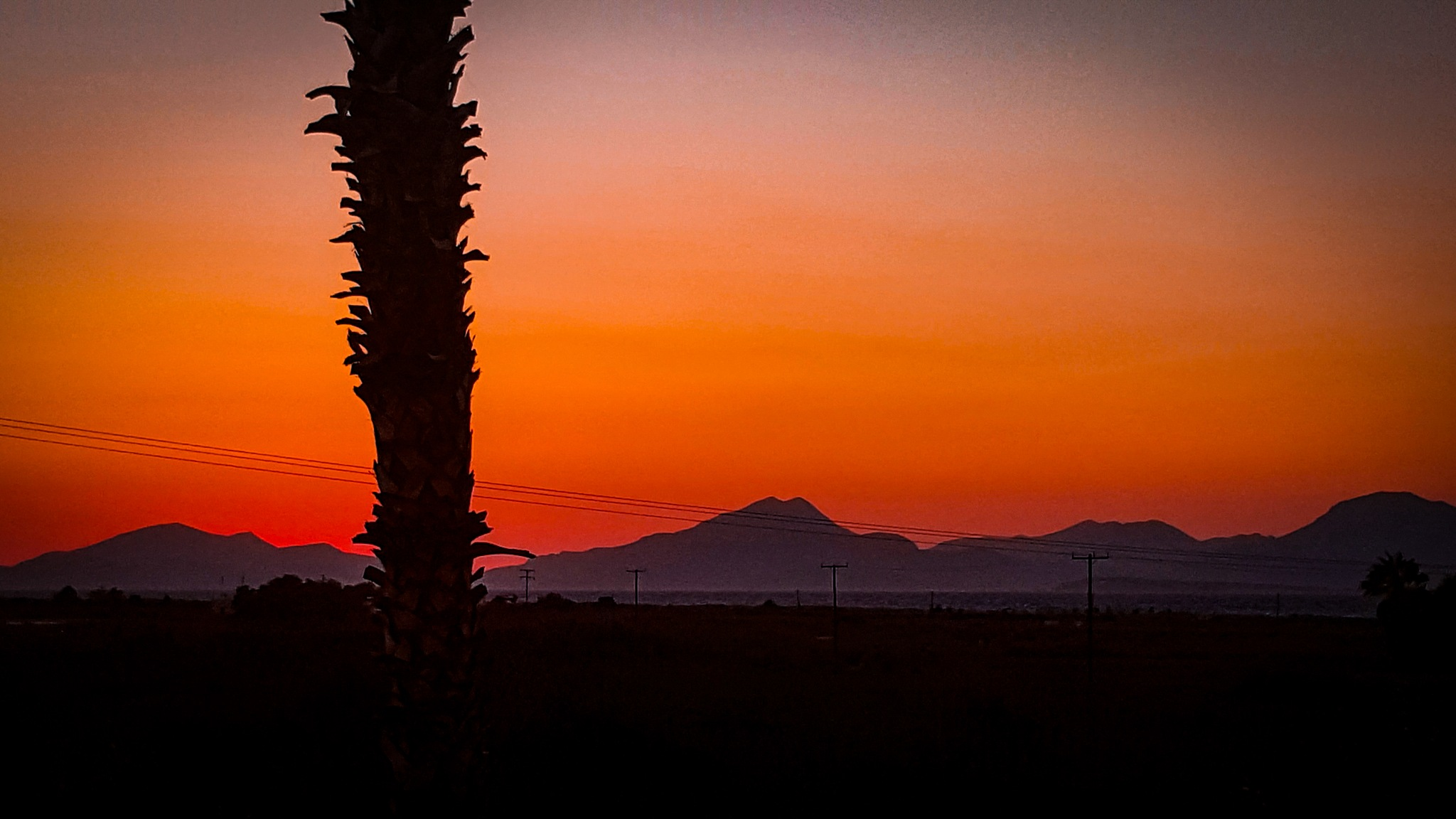 greek sunset by steve.norris.9047
