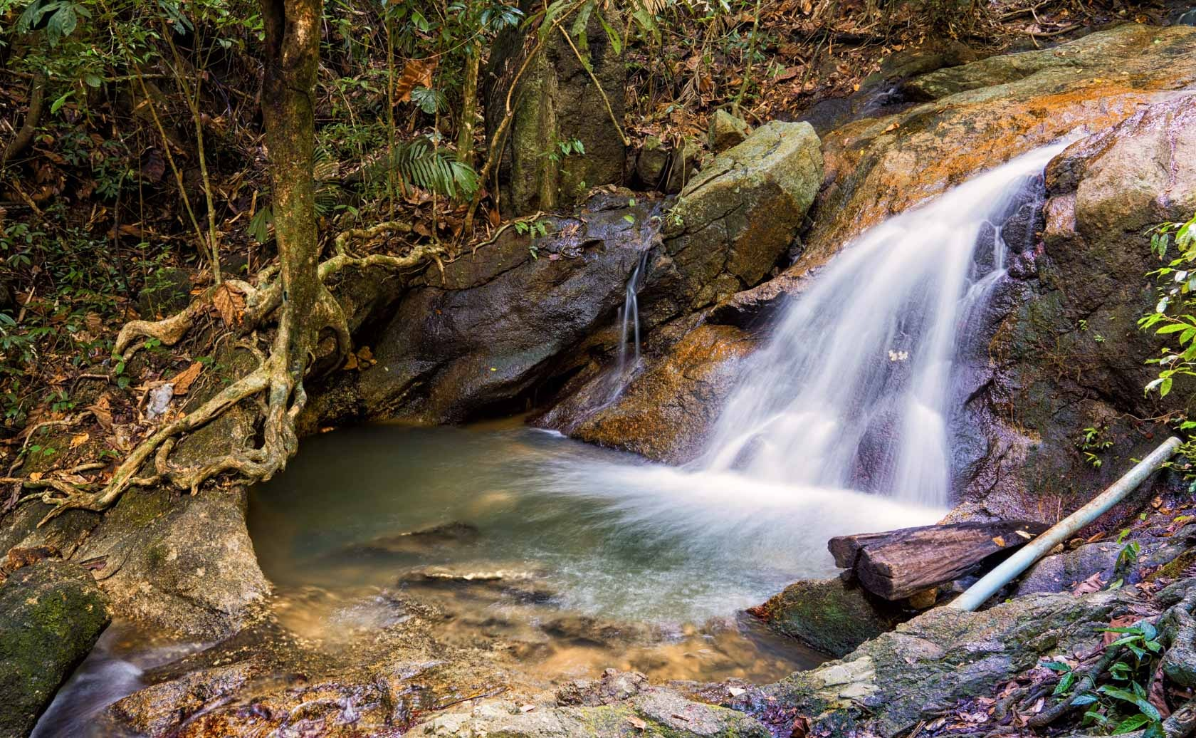 Small Waterfall by Max Compose