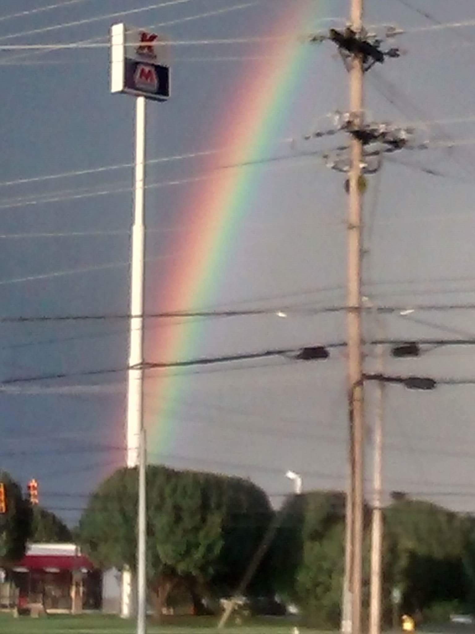 Rainbow by Mary Cyr