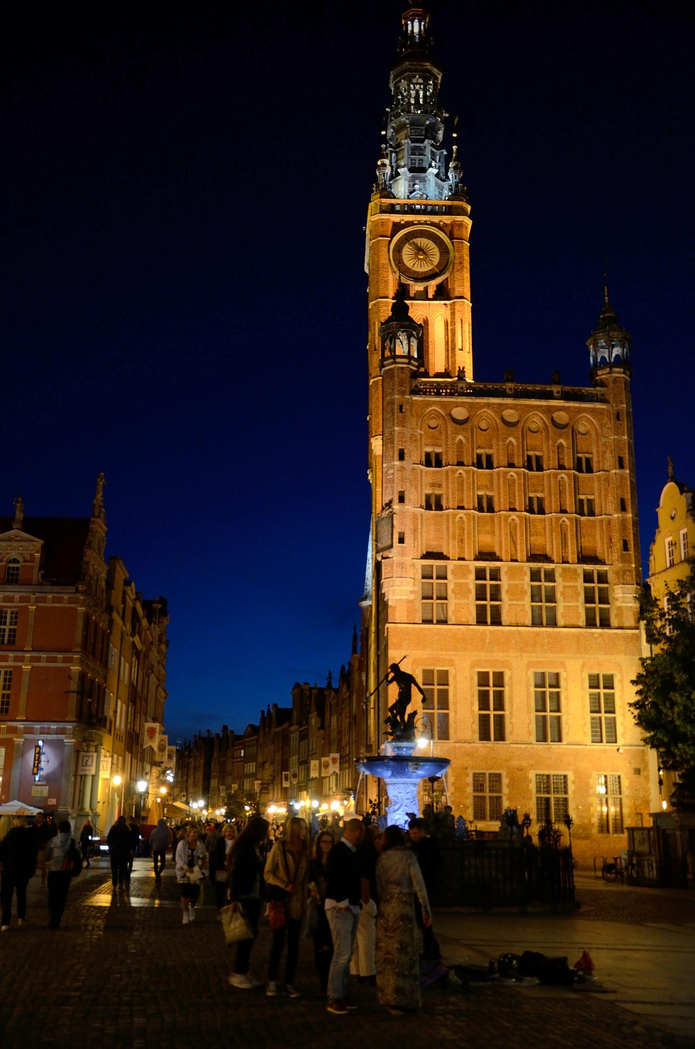 A Town Hall - Gdańsk  by habibi27